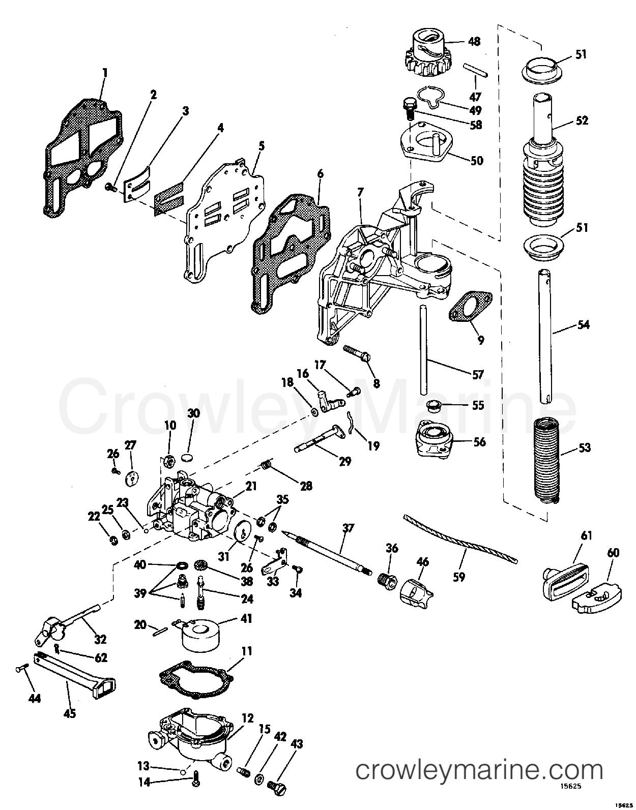 Carburetor And Starter Group
