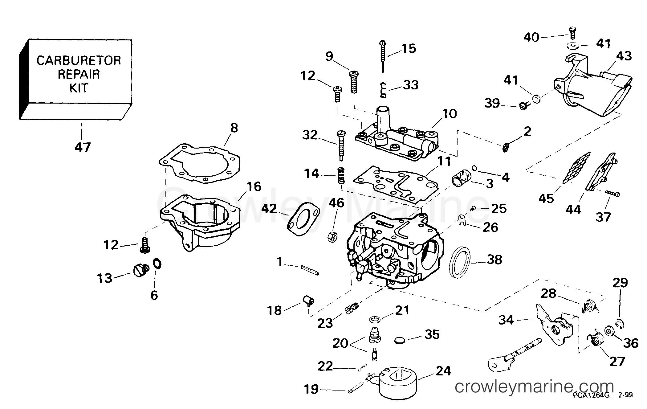 Carburetor 9 9 Hp