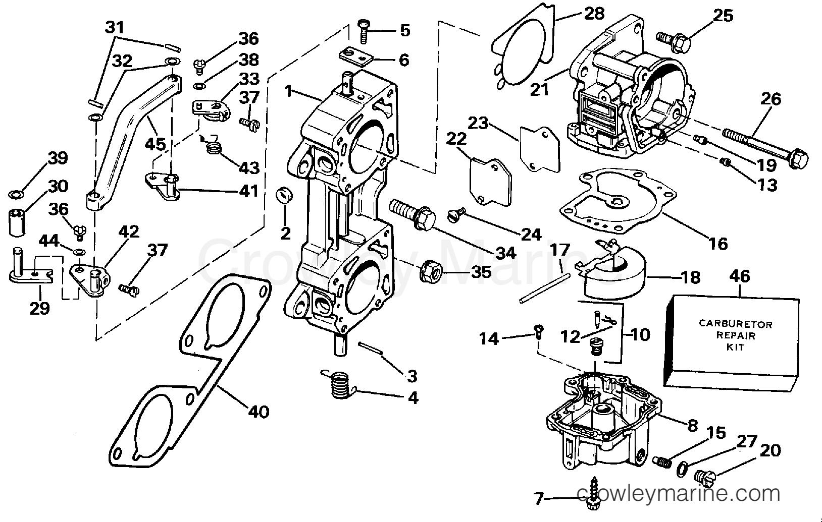 Carburetor And Linkage