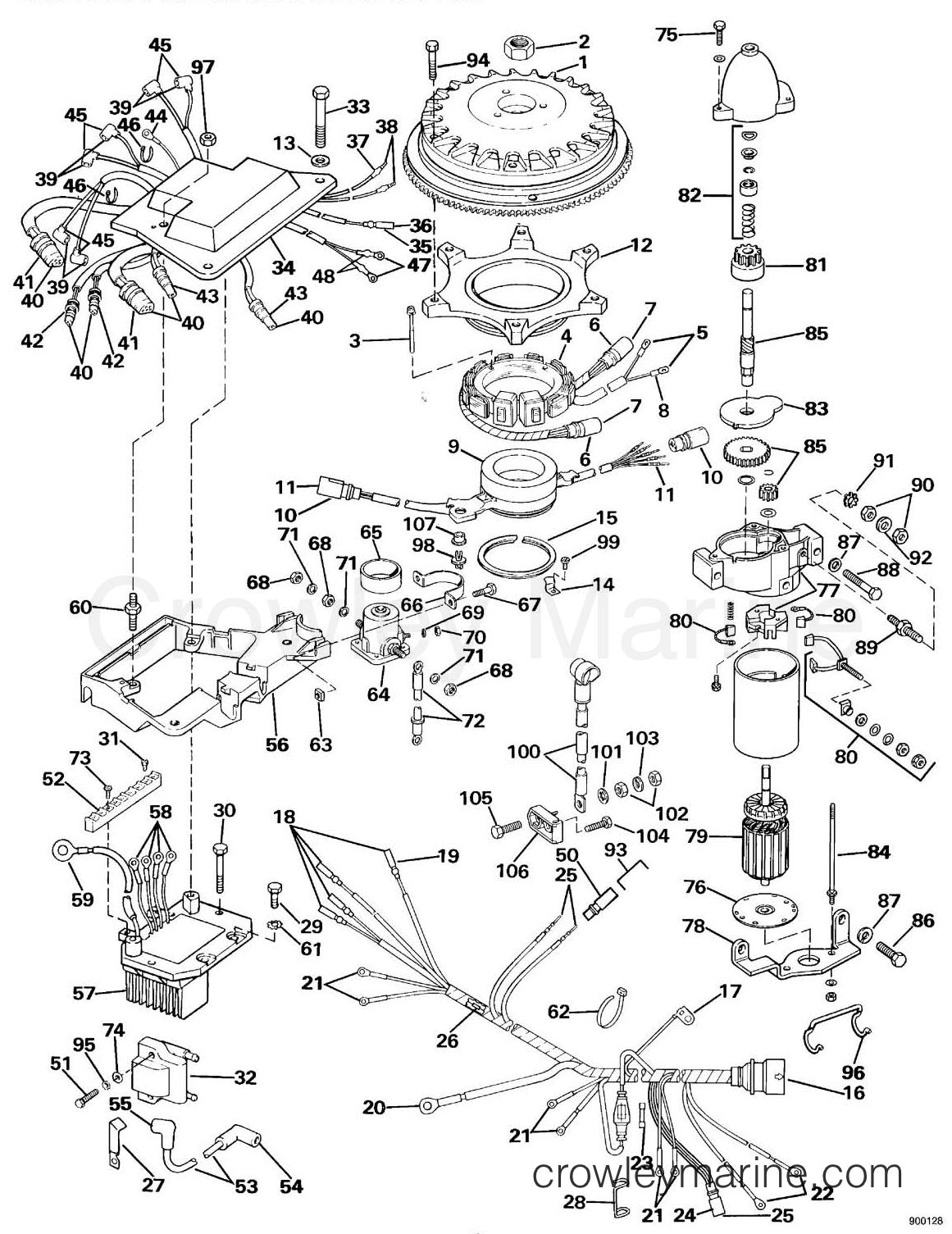 Ignition System Amp Starter Motor