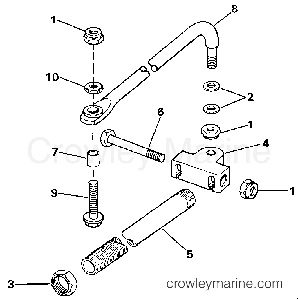 Dual Cable Steering Conn Kit