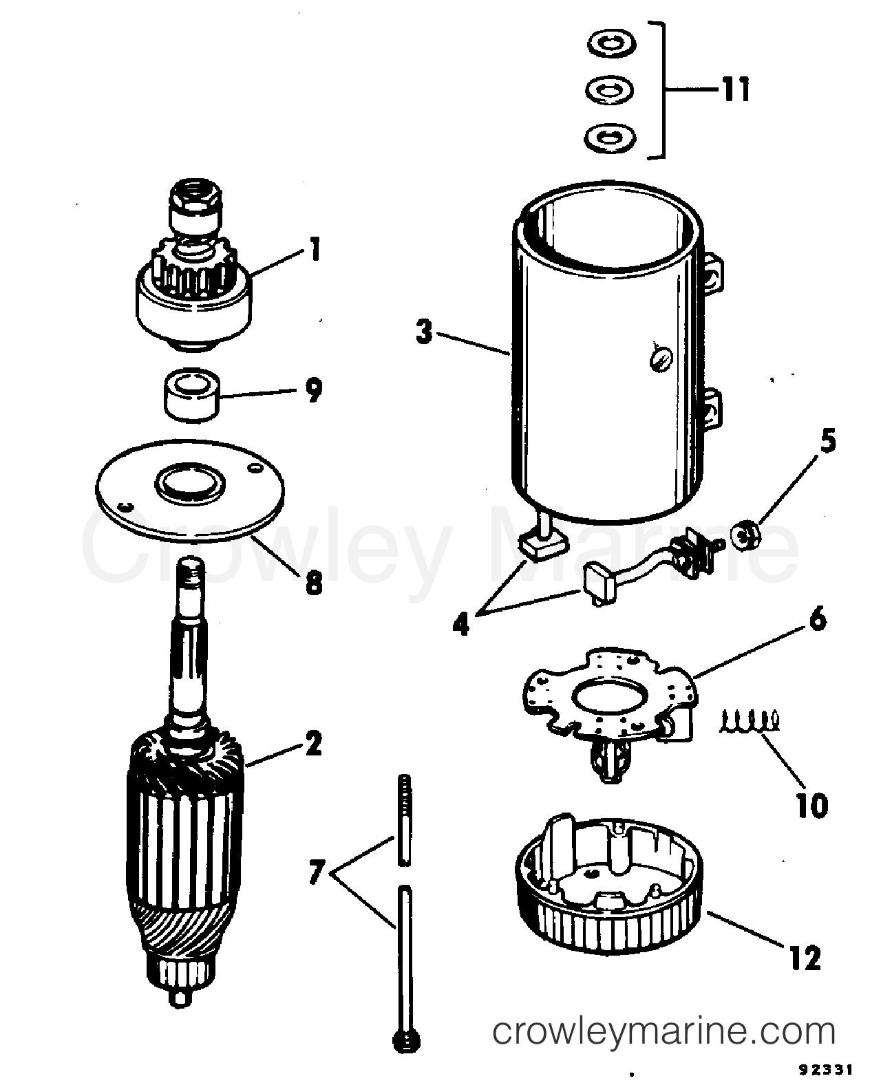 Electric Starter Prestolite Models Mgl