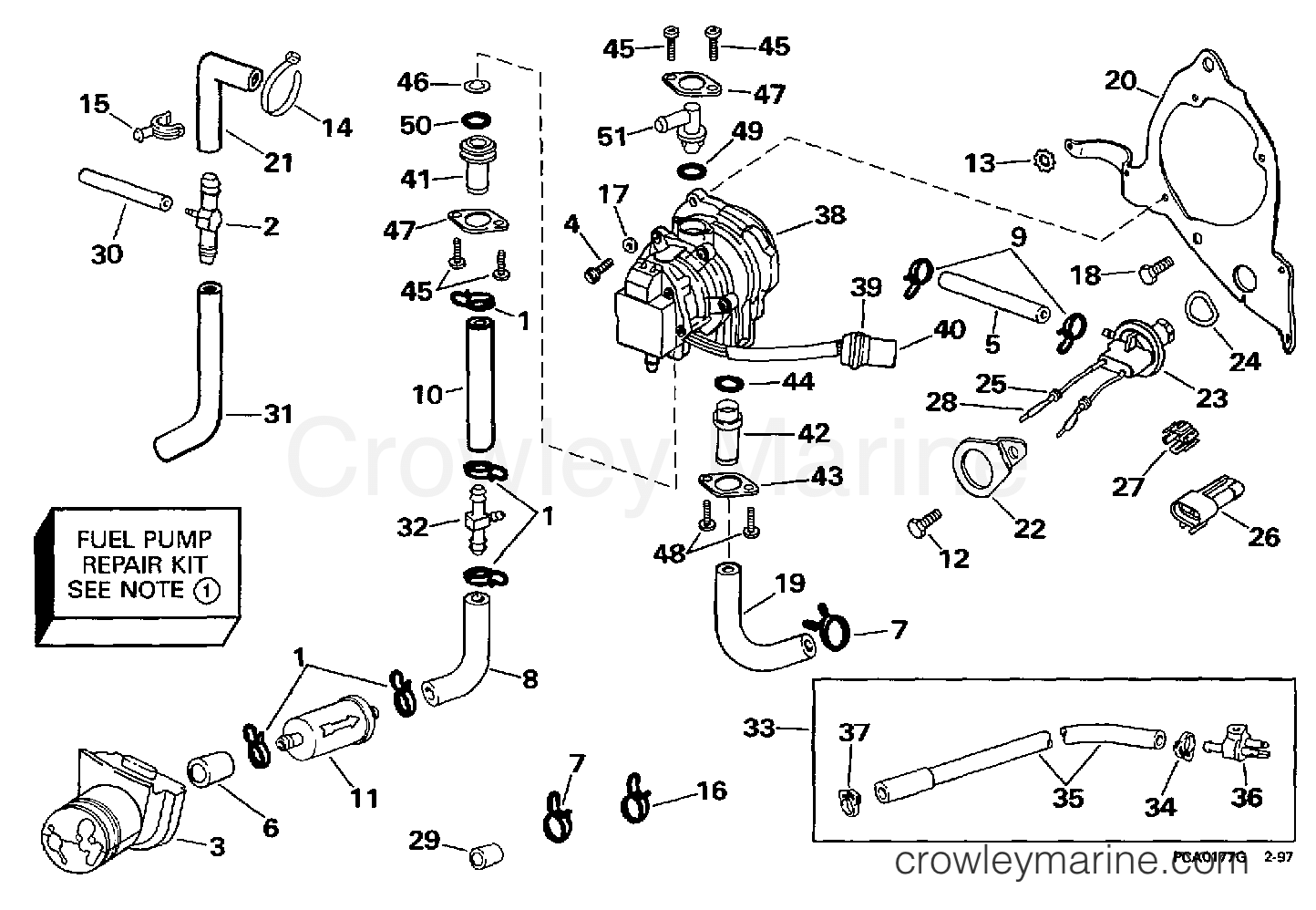 Mercury 200 Outboard Fuel Filter