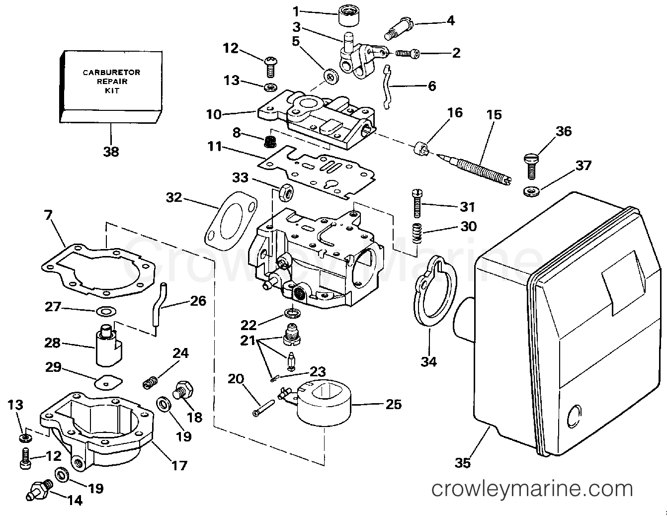 Carburetor Early Production