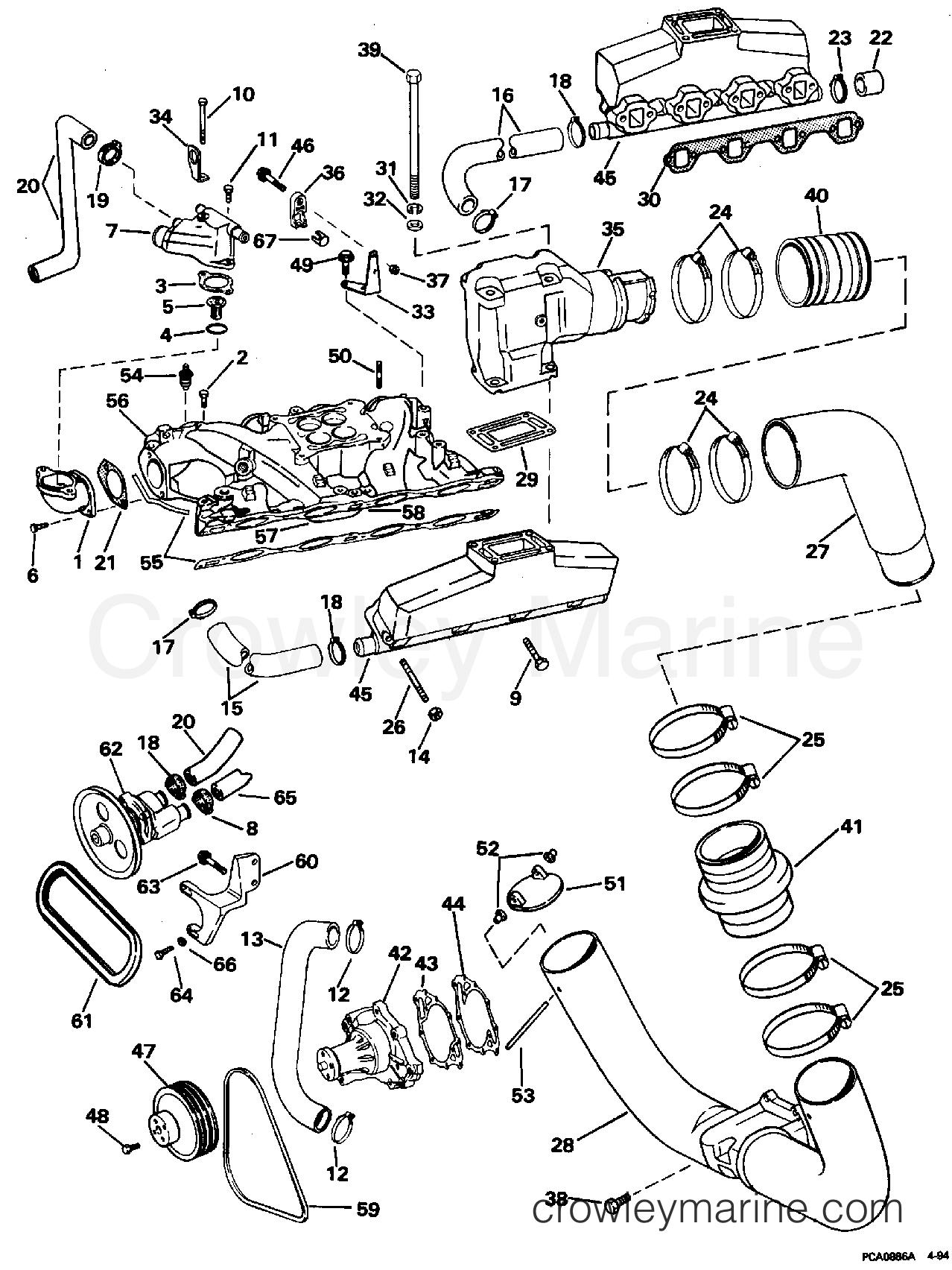 Intake Manifold Exhaust Amp Cooling