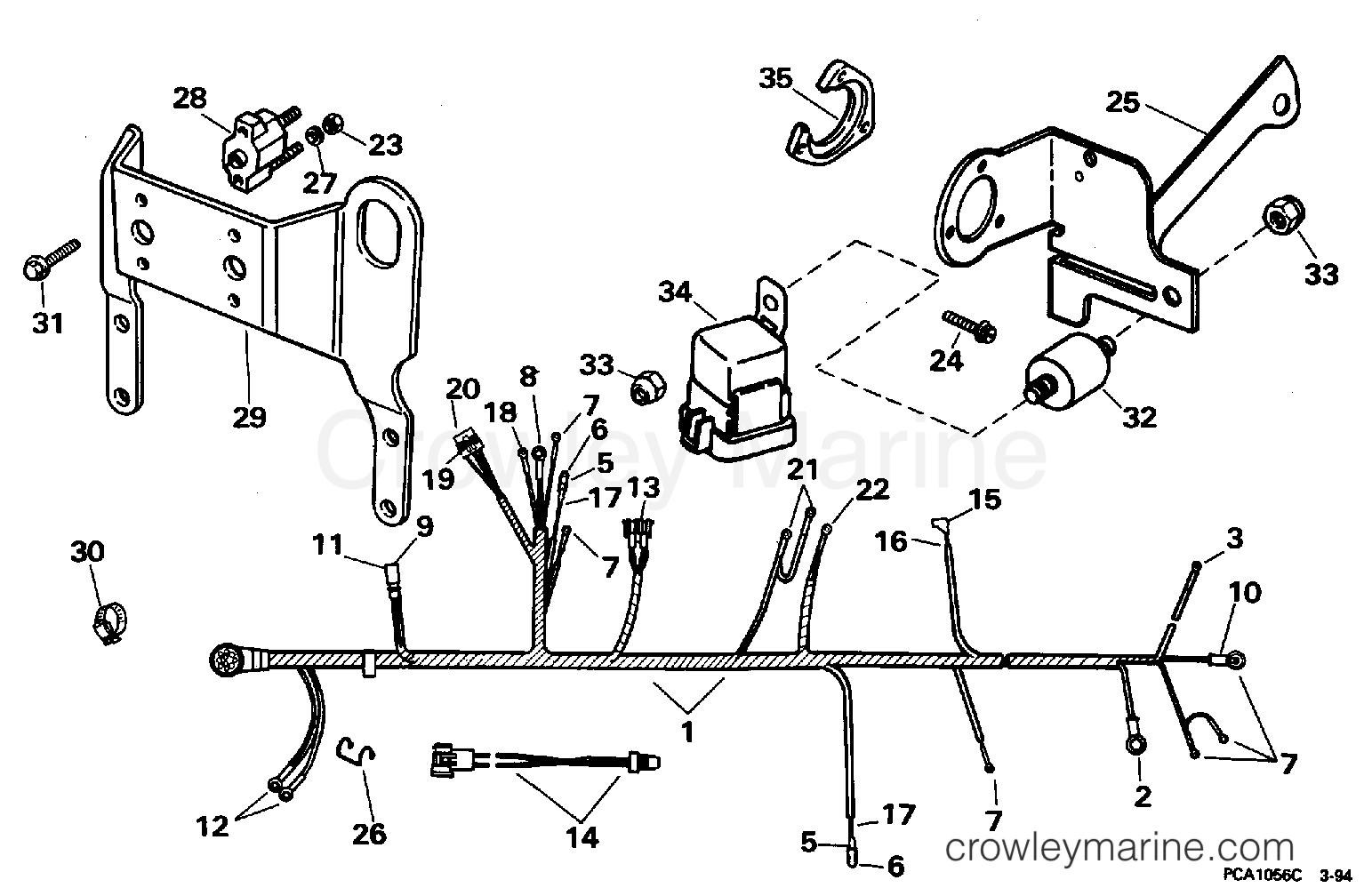 Wire Harness Bracket Amp Solenoid