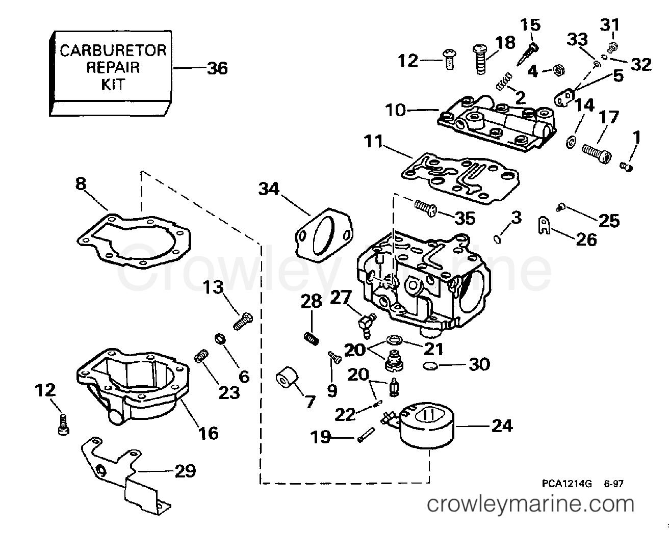 Carburetor 25 Hp