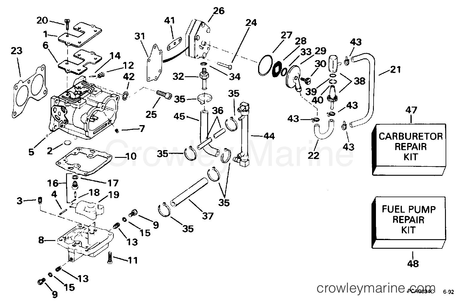Carburetor Fuel Pump Amp Filter