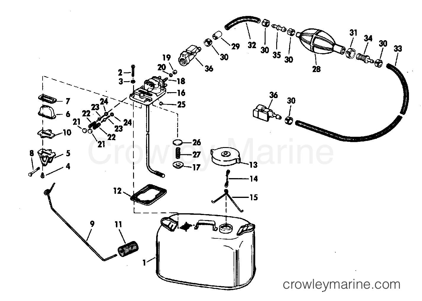 Fuel Tank 6 Gallon