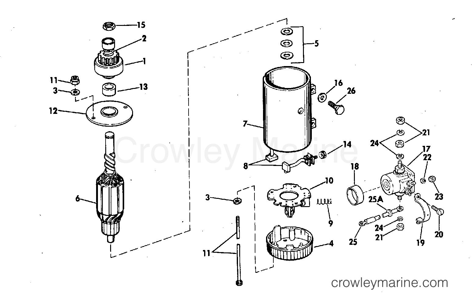 Electric Starter Amp Solenoid Models Mgd Mgd Mgd