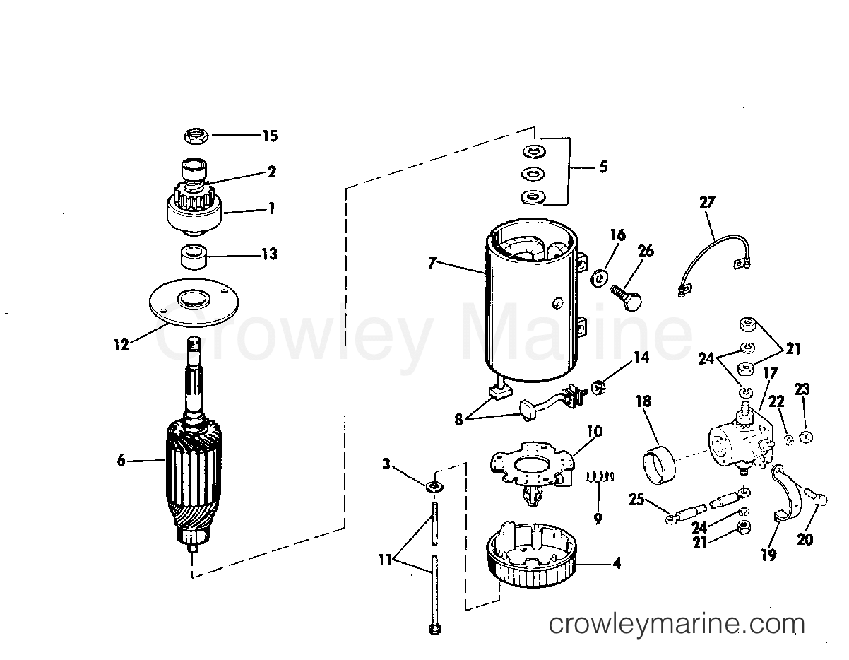 Electric Starter Amp Solenoid Prestolite Model Mkw Mkw