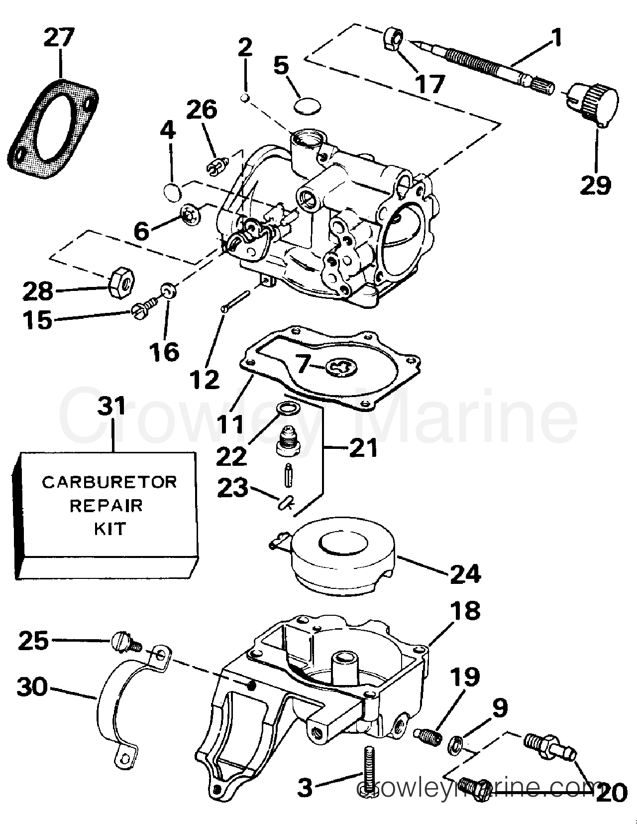 1998 25 Hp Johnson Outboard | Wiring Diagram Database