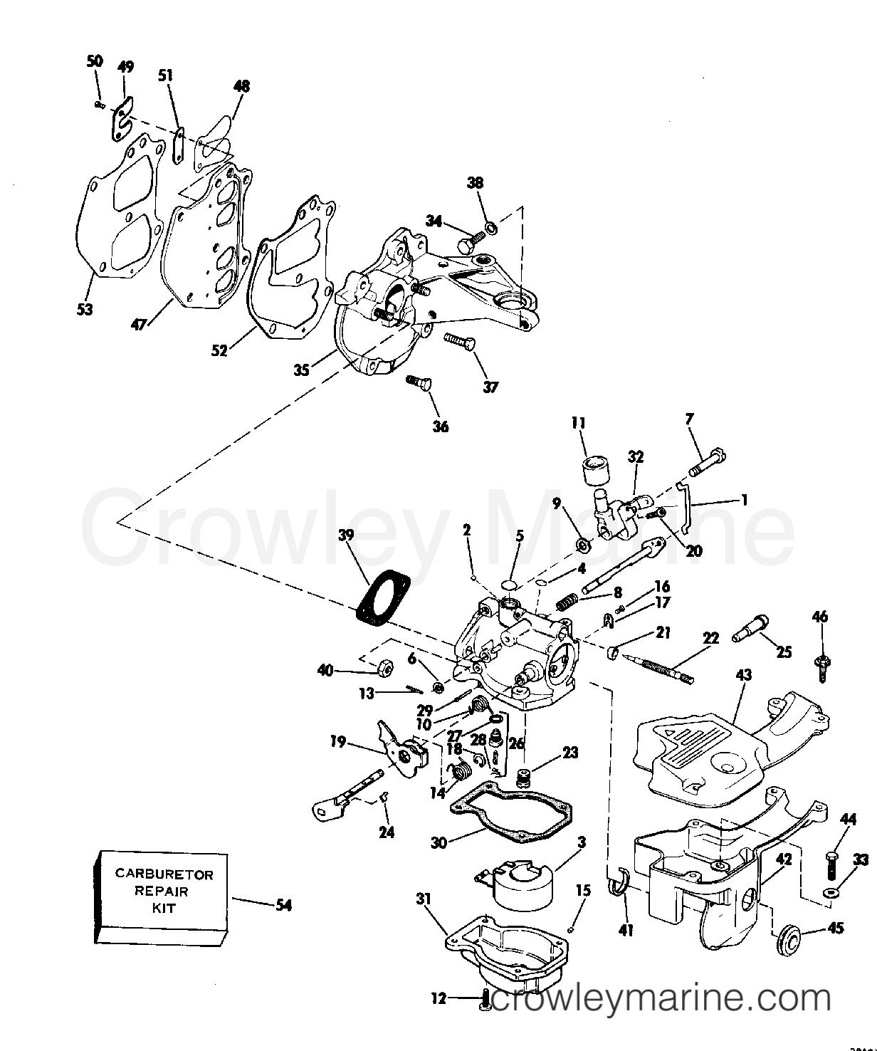 Carburetor And Manifold