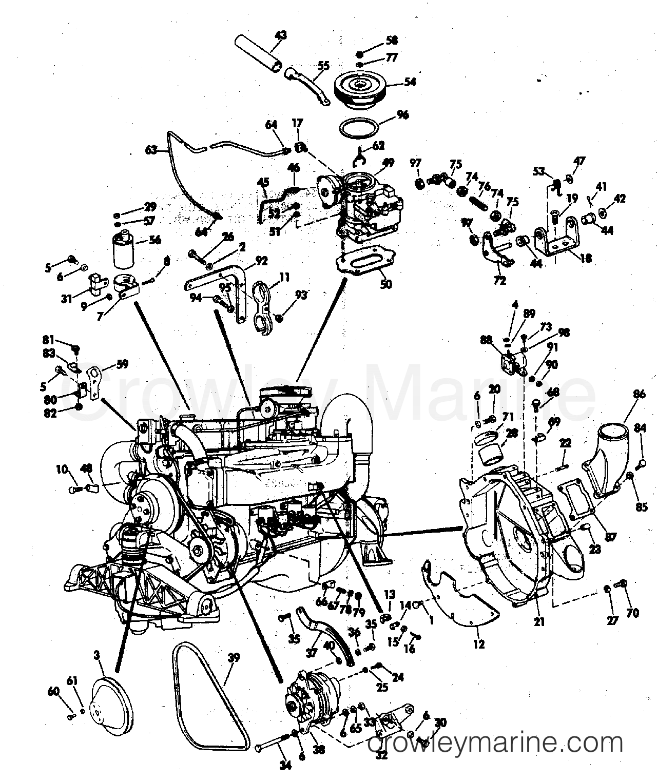 Miscellaneous Group 140 Hp Stern Drive