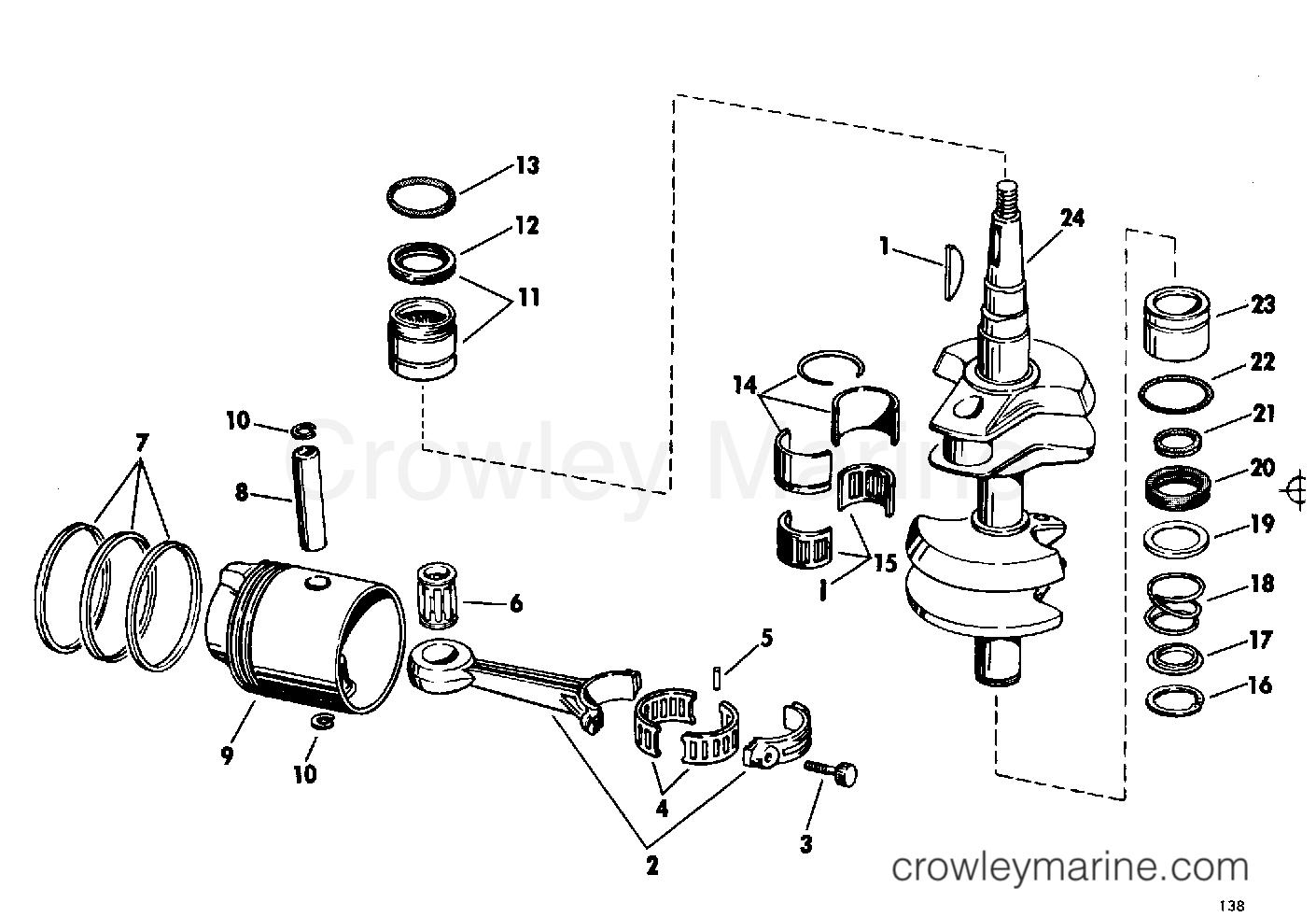Crankshaft Group Electric Shift