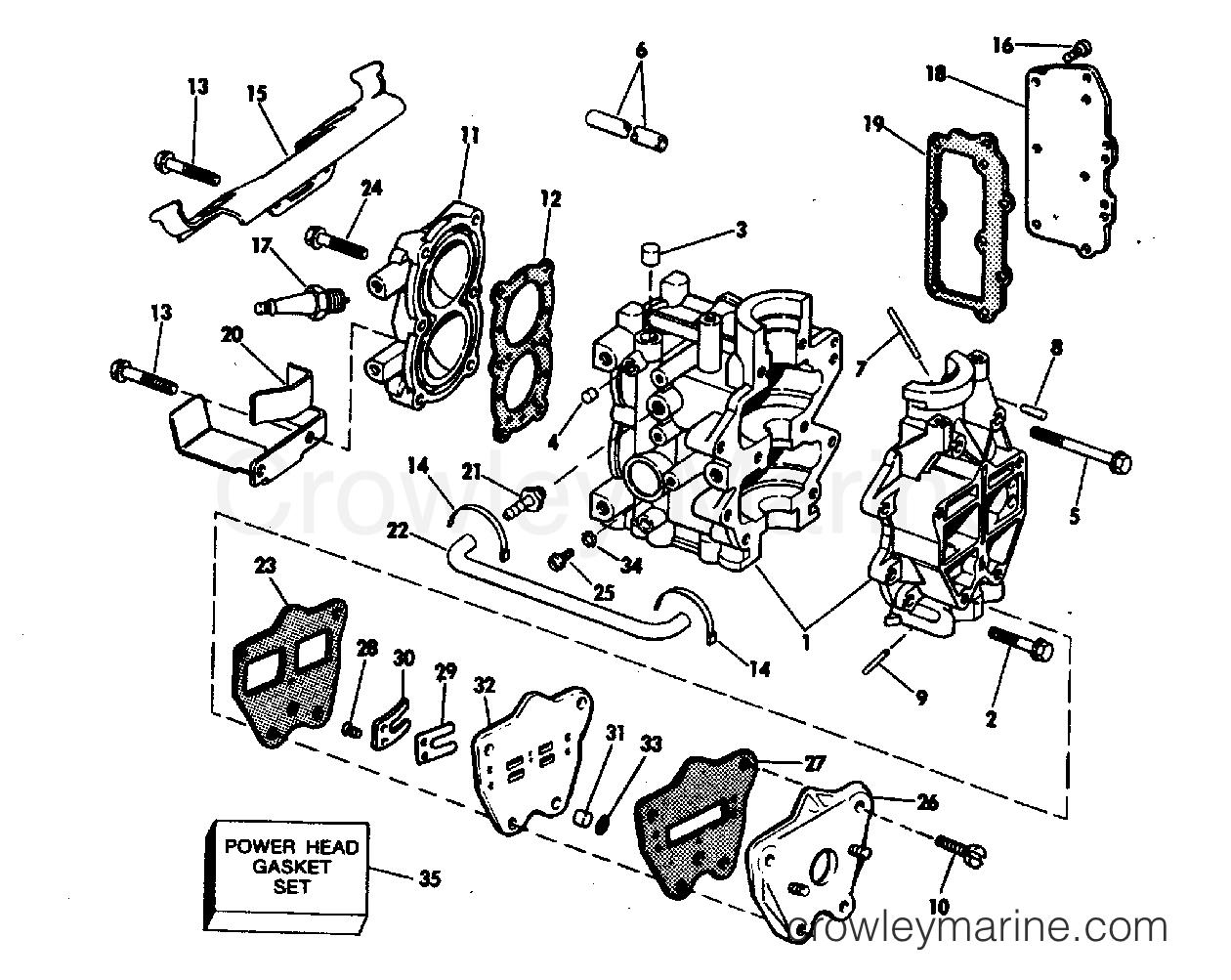 Cylinder Amp Crankcase Amp Intake Manifold