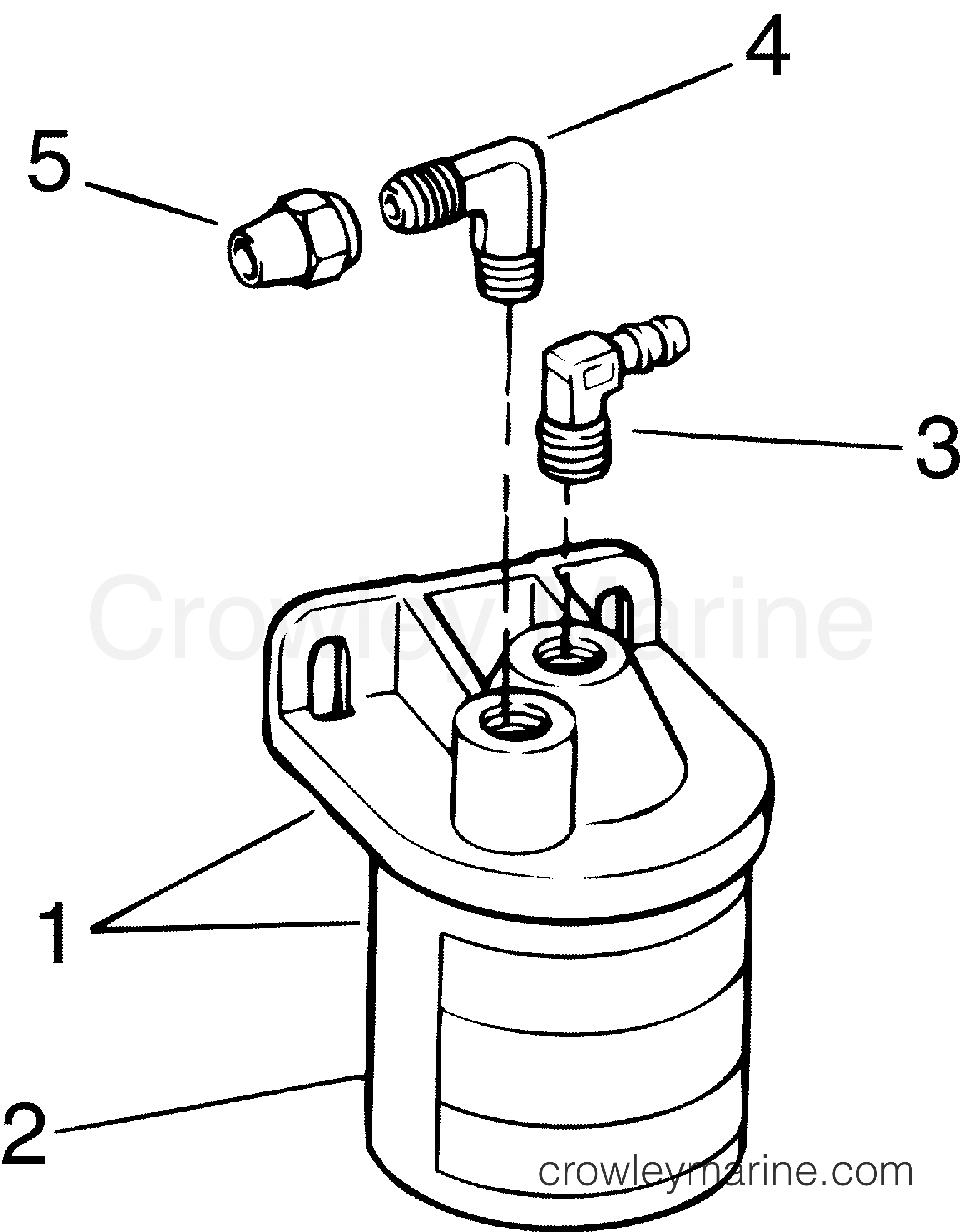 Fuel Filter Water Separator Kit