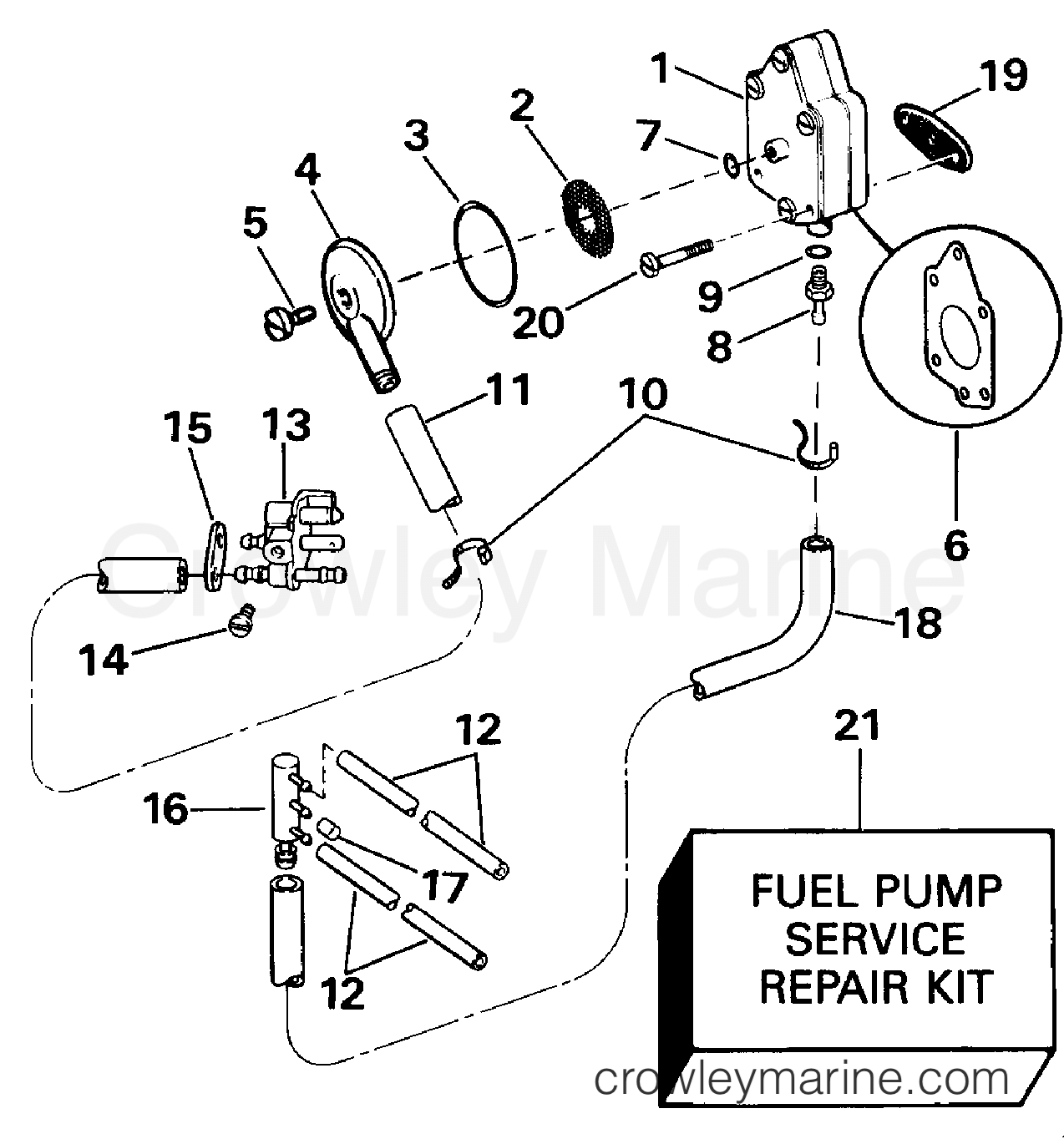 Fuel Pump And Filter Late Production