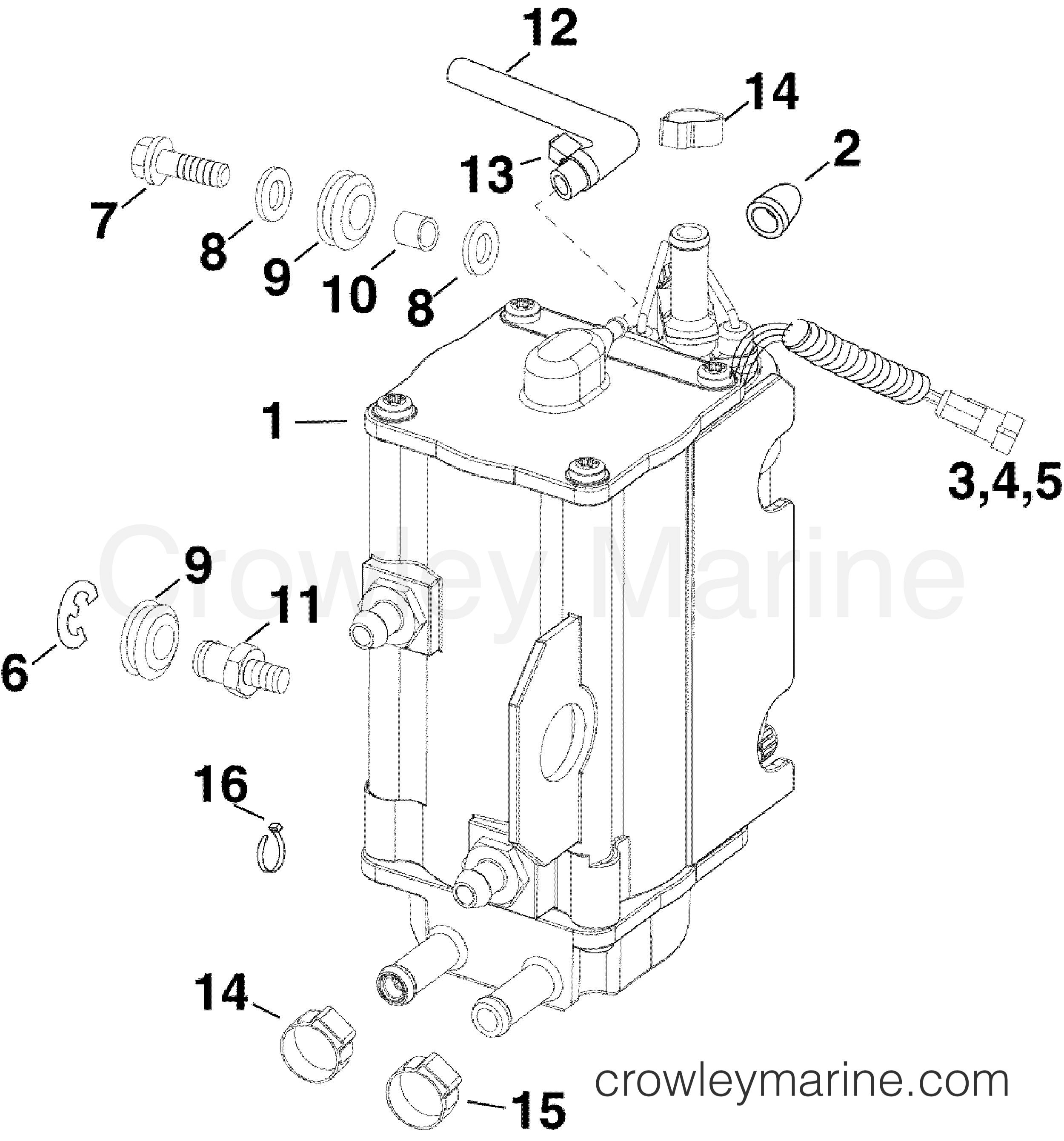 Fuel Pump Amp Vapor Separator