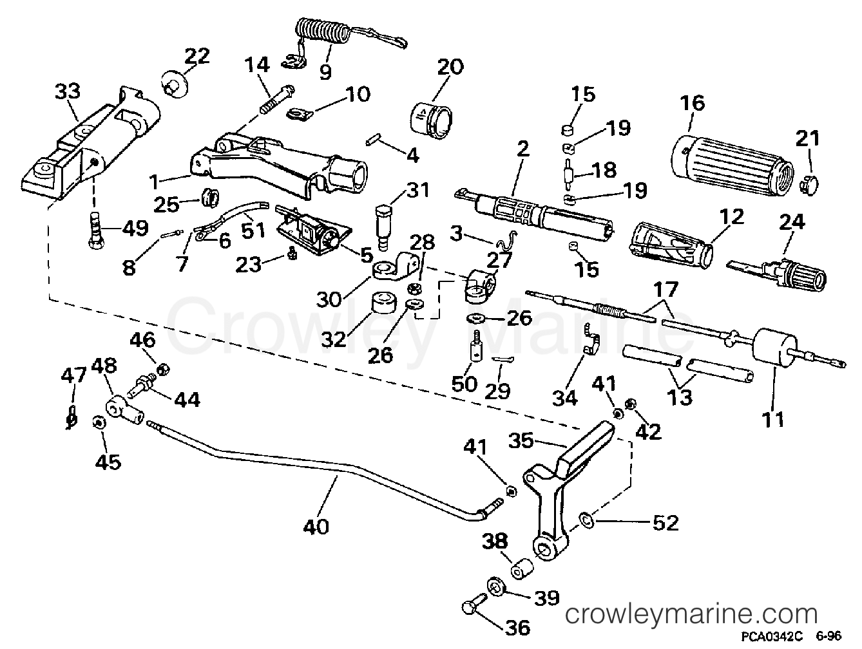 Steering Amp Shift Handle