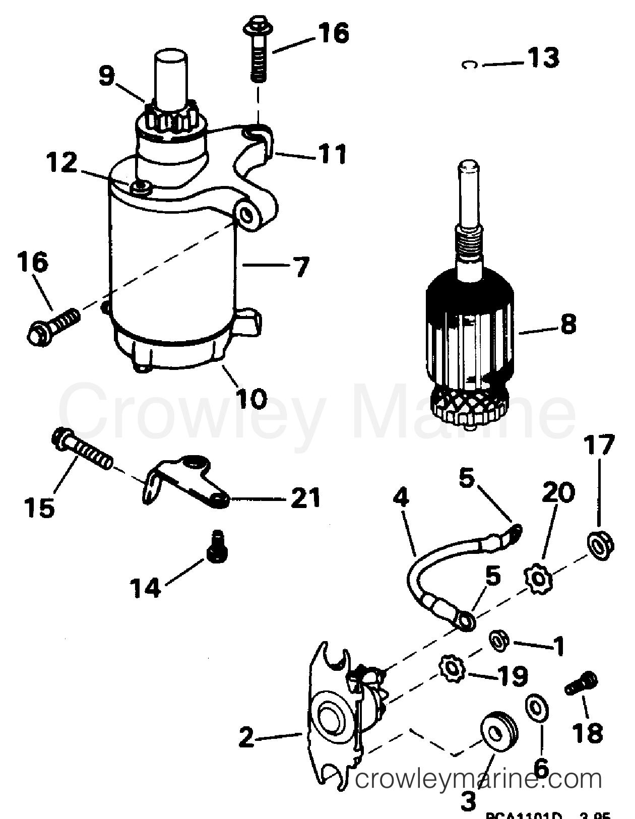 Starter Motor Amp Solenoid