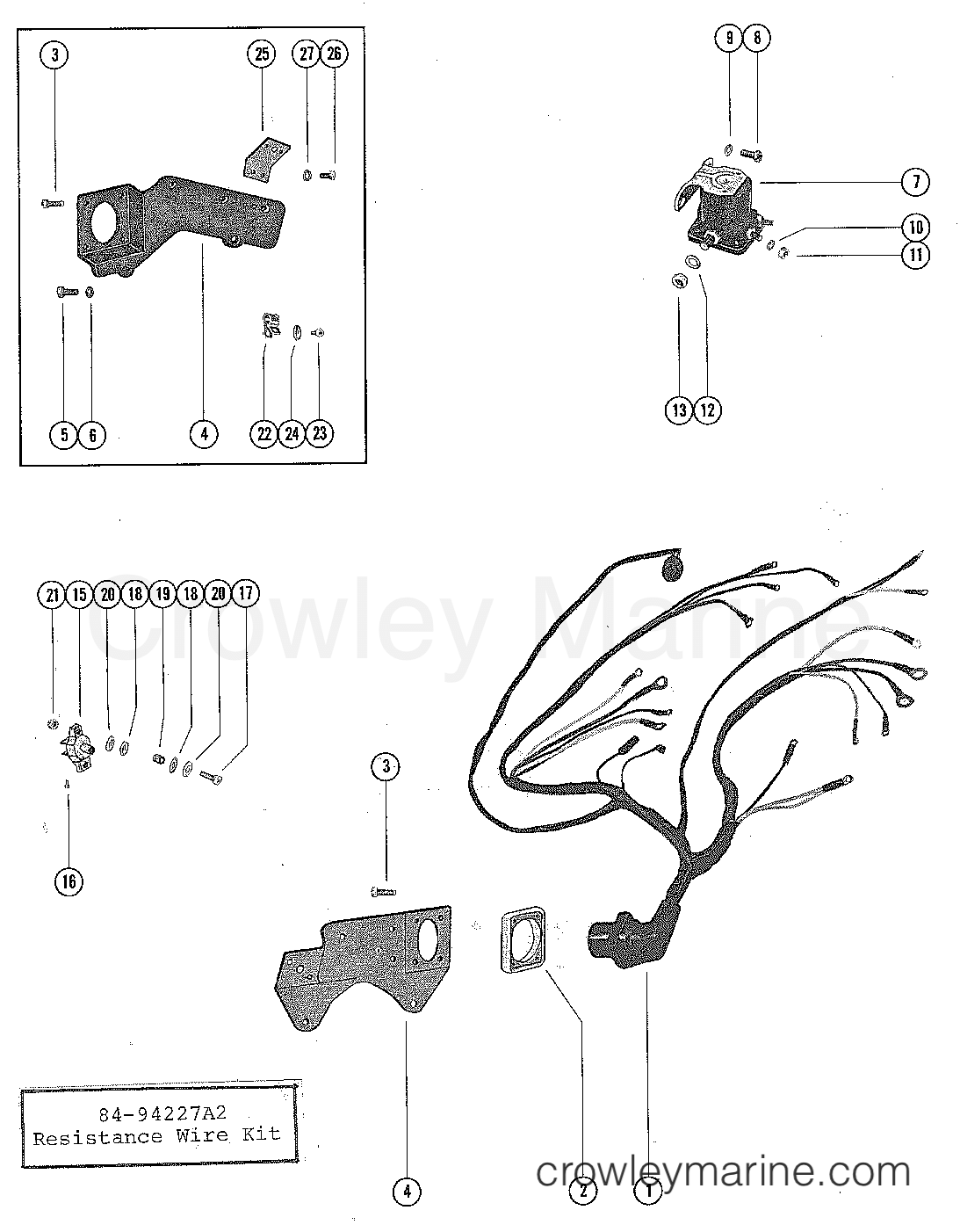 Ford 351 Wiring Harnes Diagram