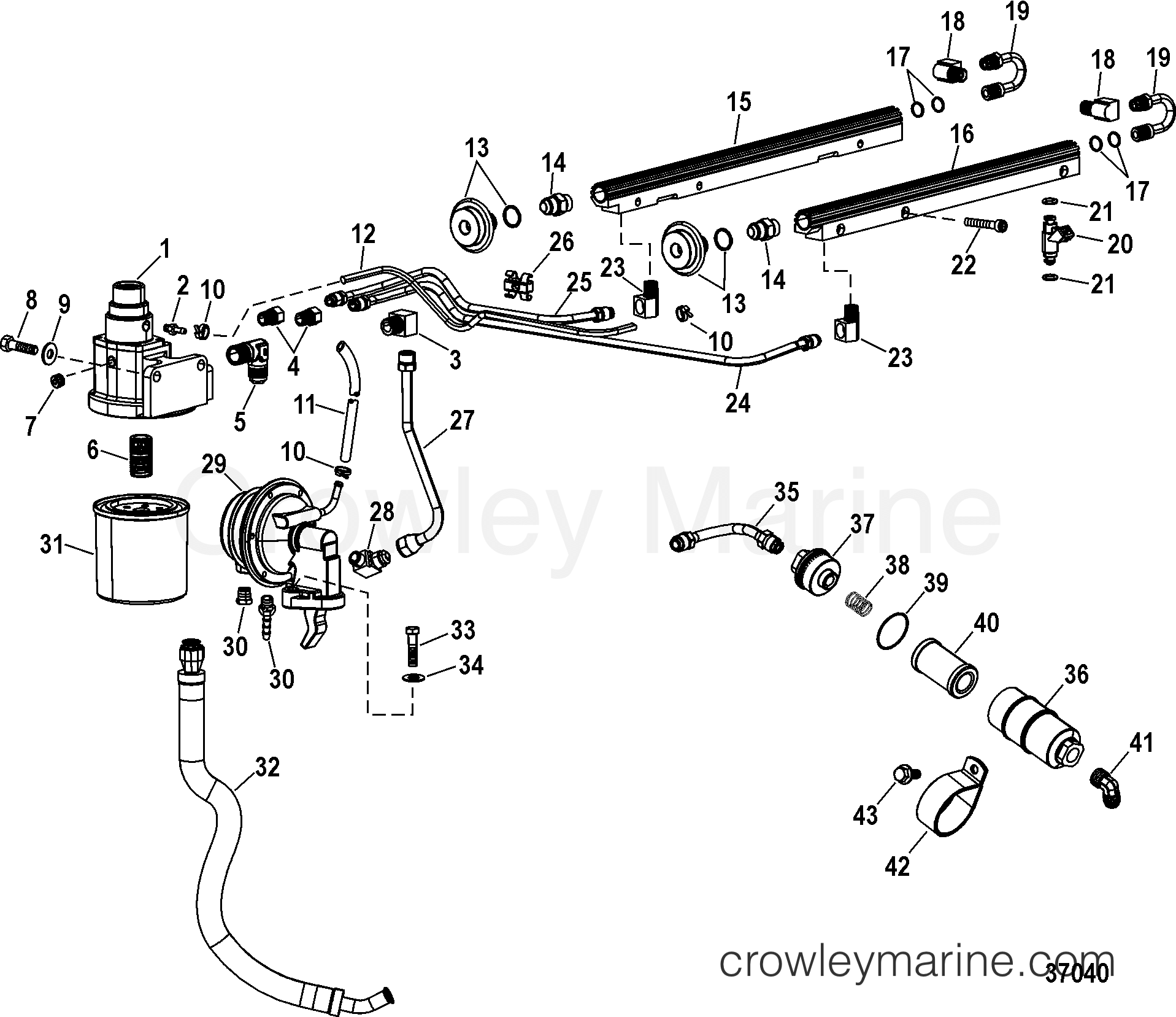 Fuel Lines And Fuel Components