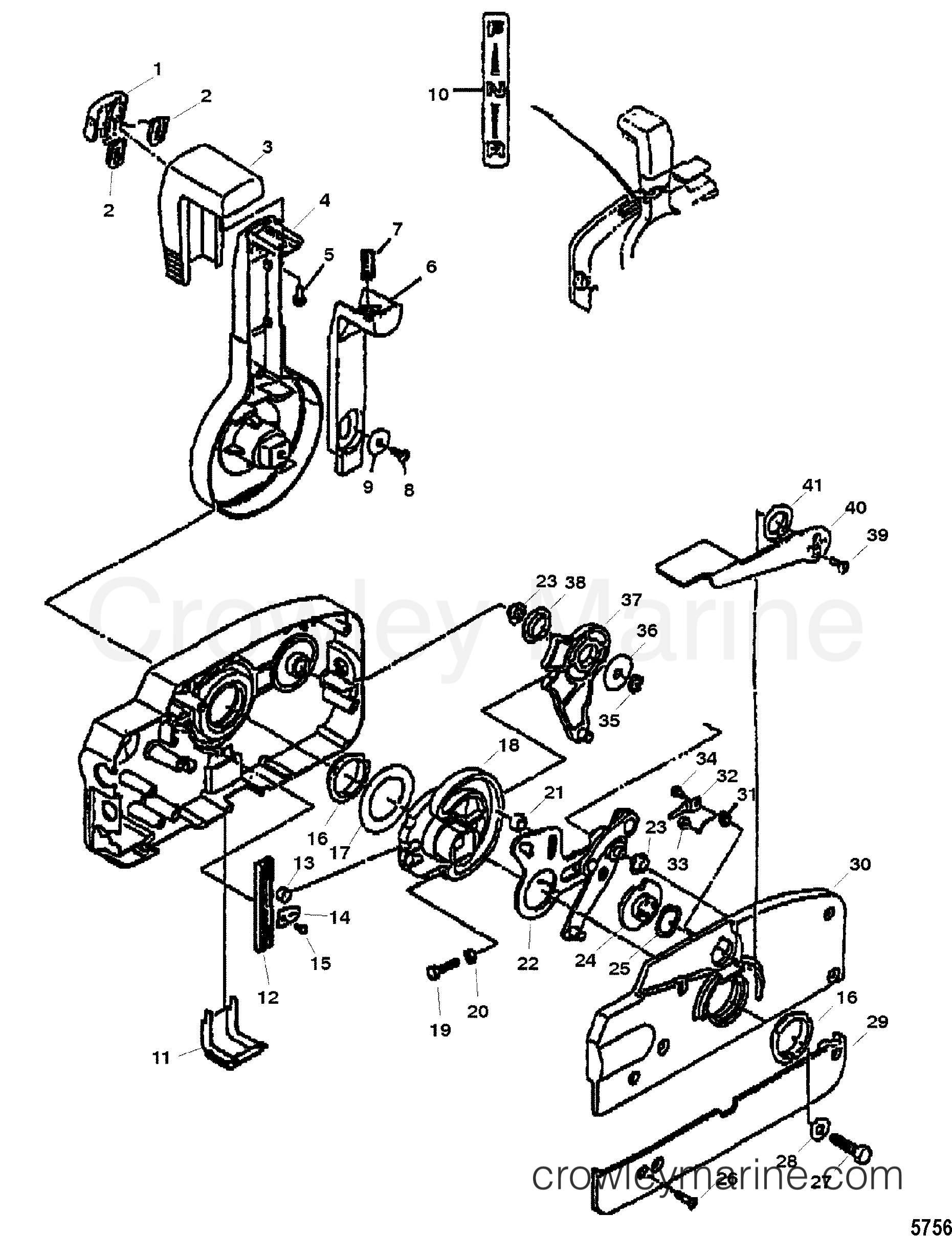 Quicksilver Throttle Control Wiring Diagram