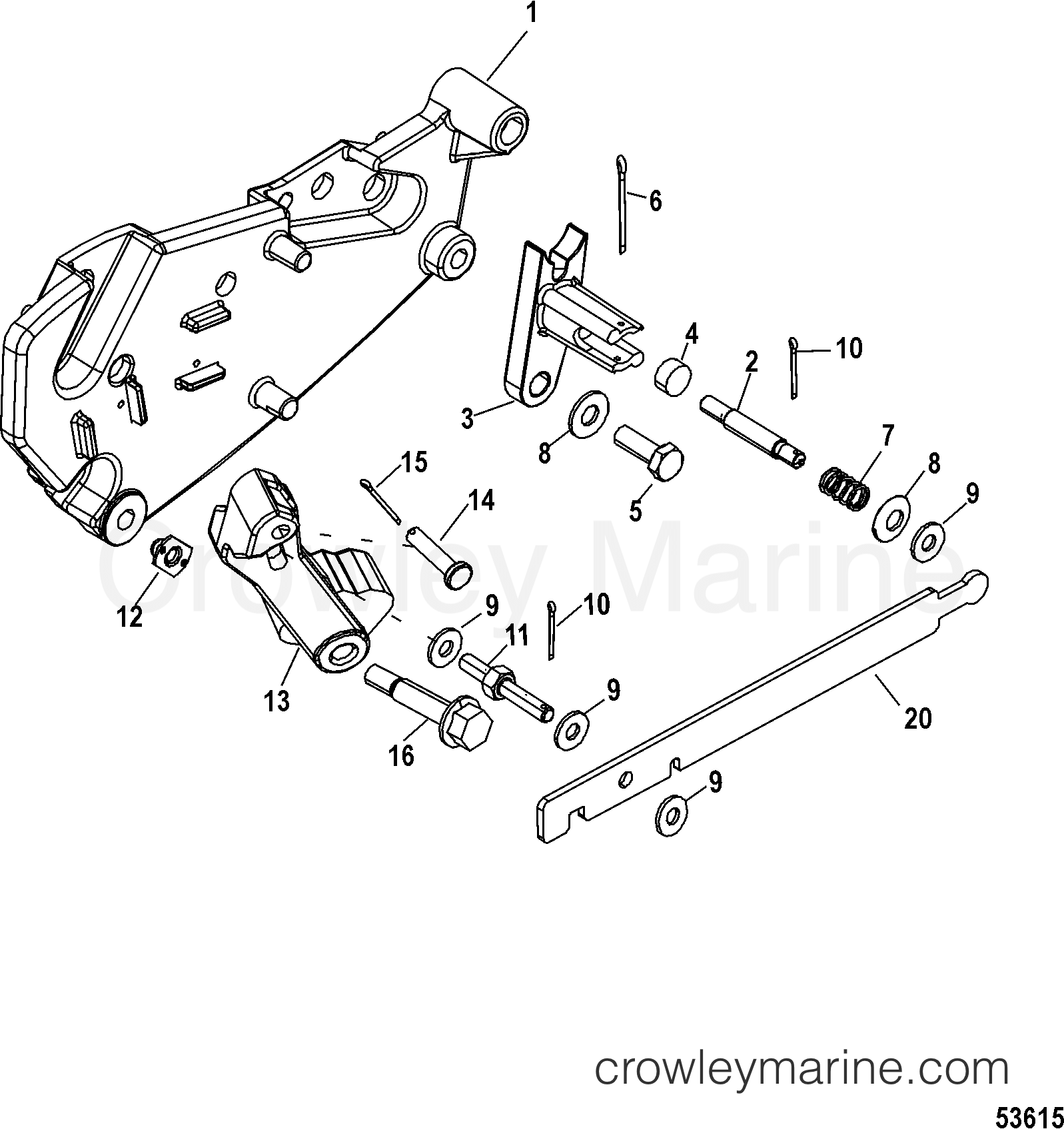 Shift Bracket Mechanical