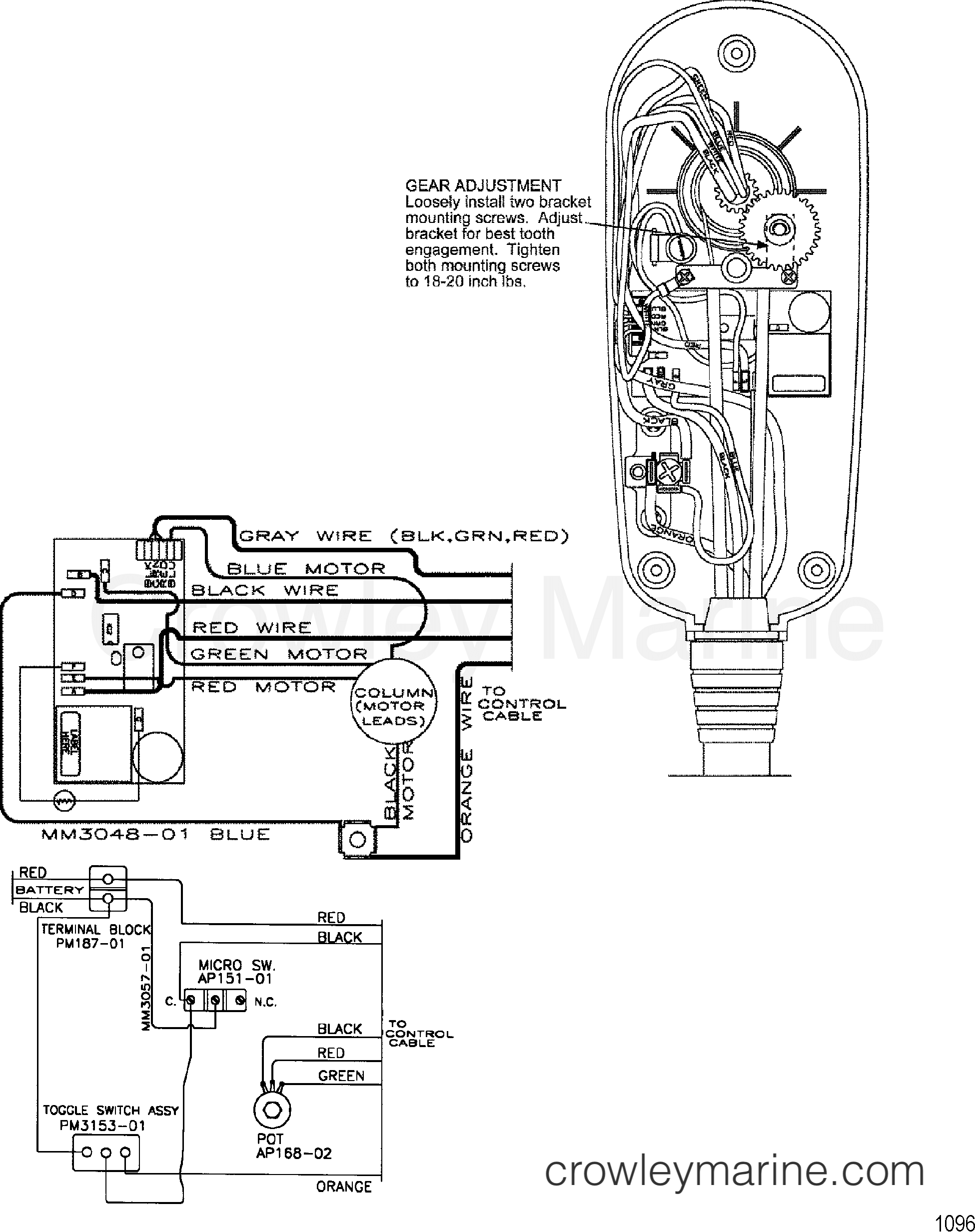 Wire Diagram Model Te784v 36 Volt