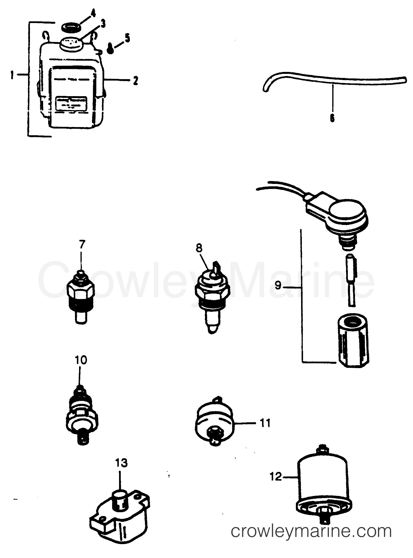 Miscellaneous Engine Parts