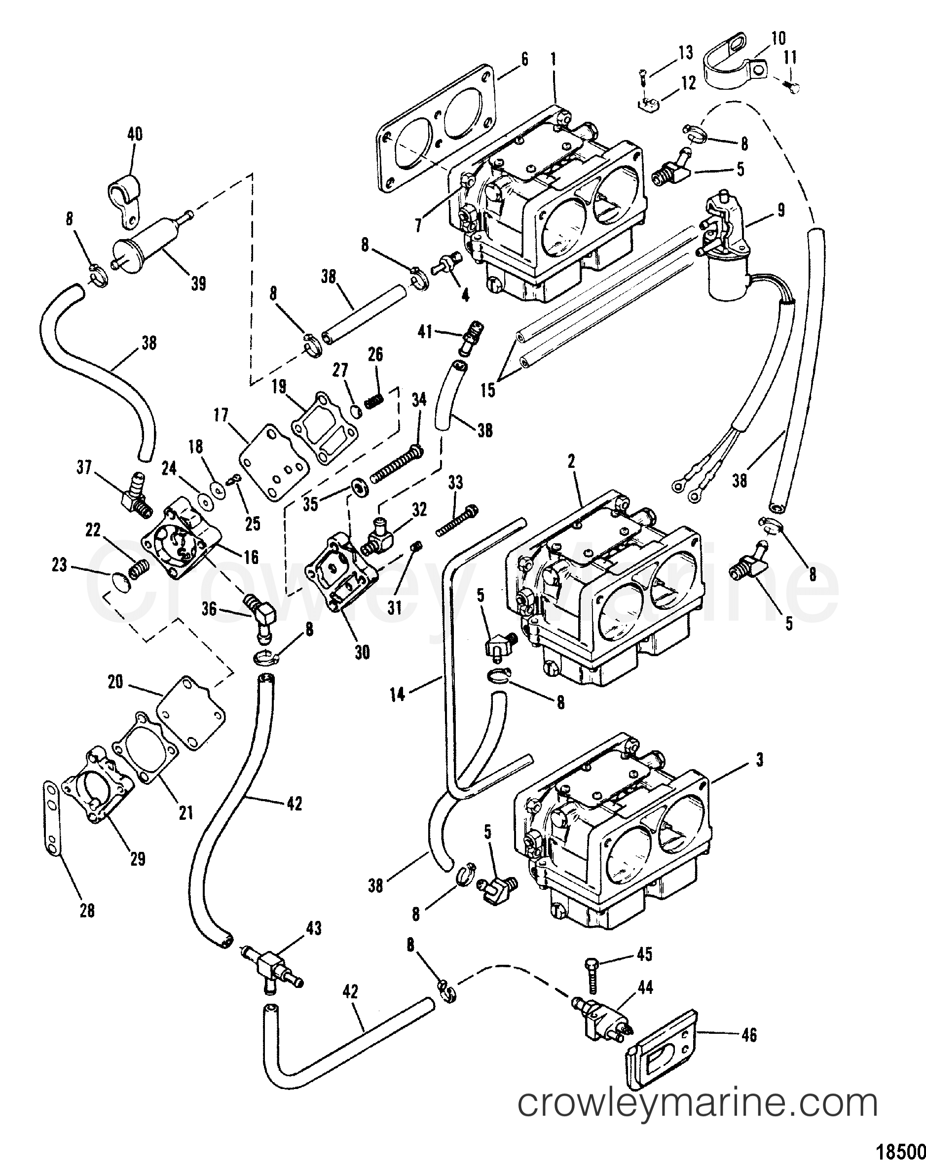 Fuel Pump And Carburetor