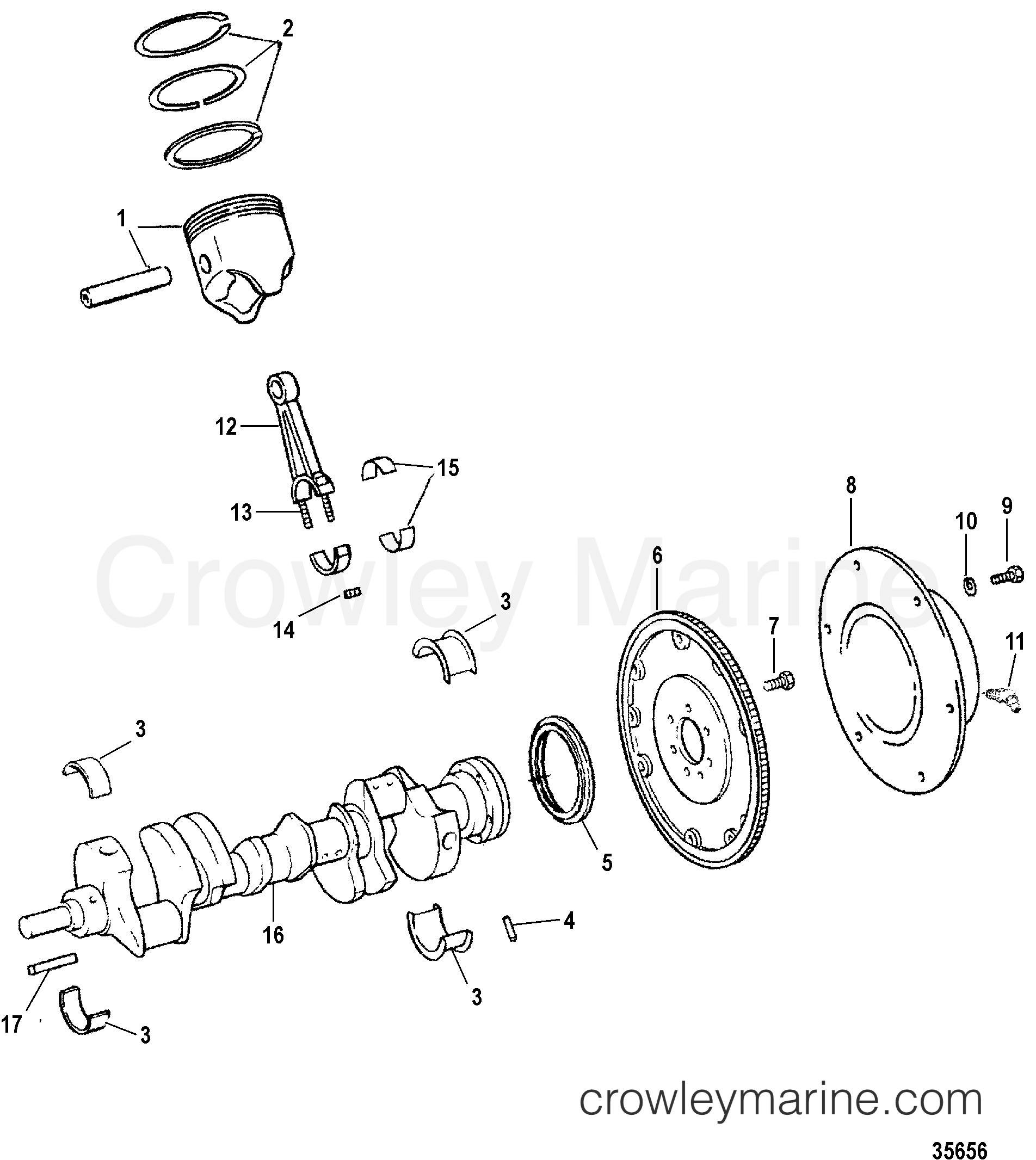 Crankshaft And Connecting Rods