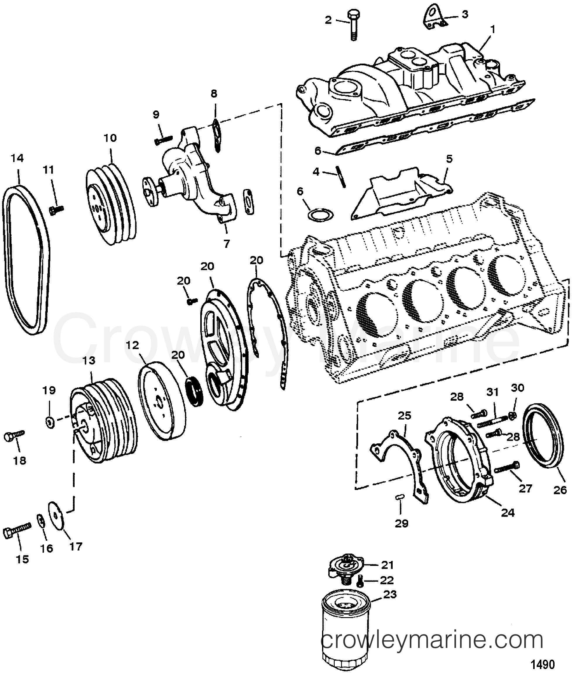 Gmc 5 7l V8 Engine Diagram