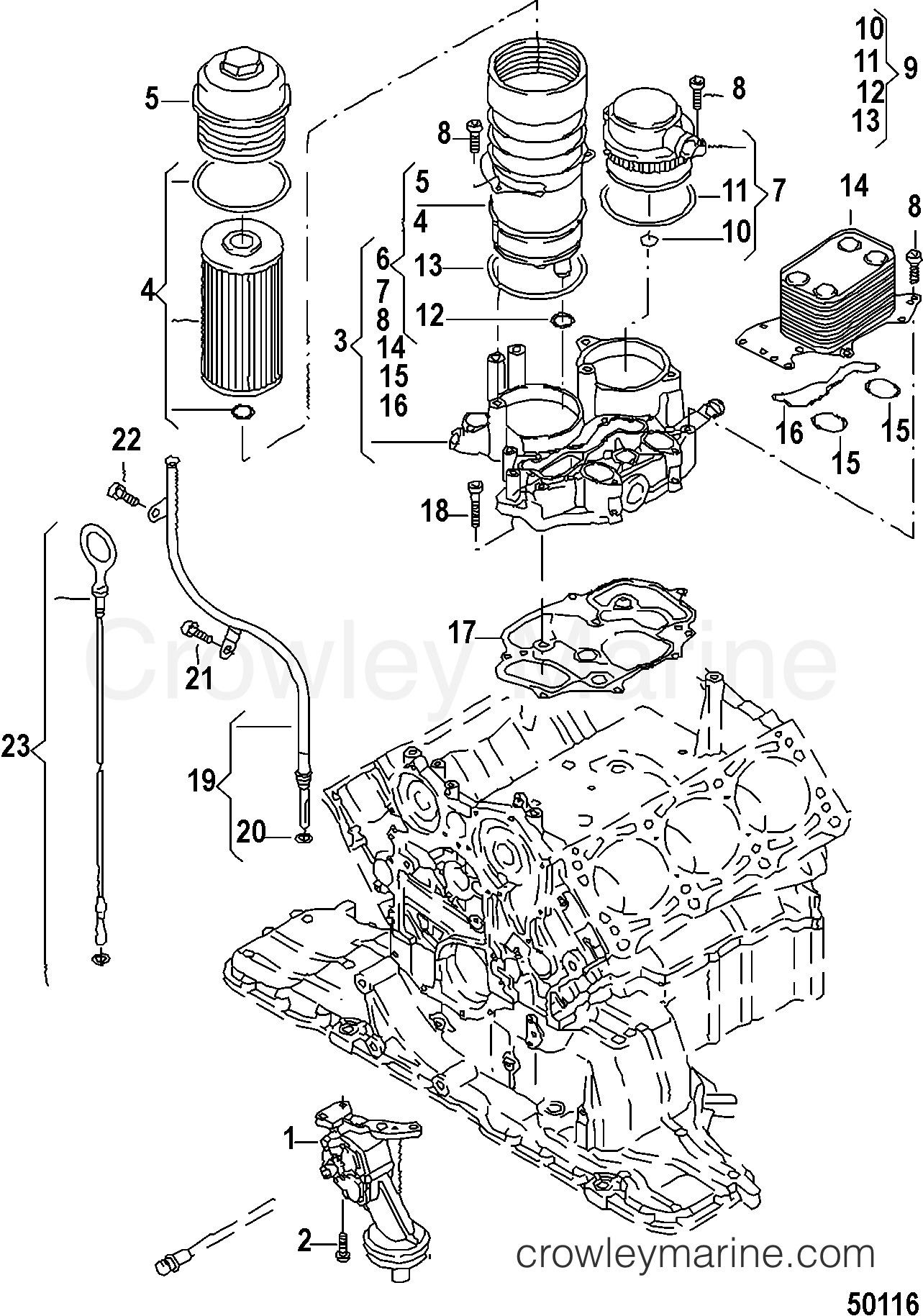 Oil Pump And Components