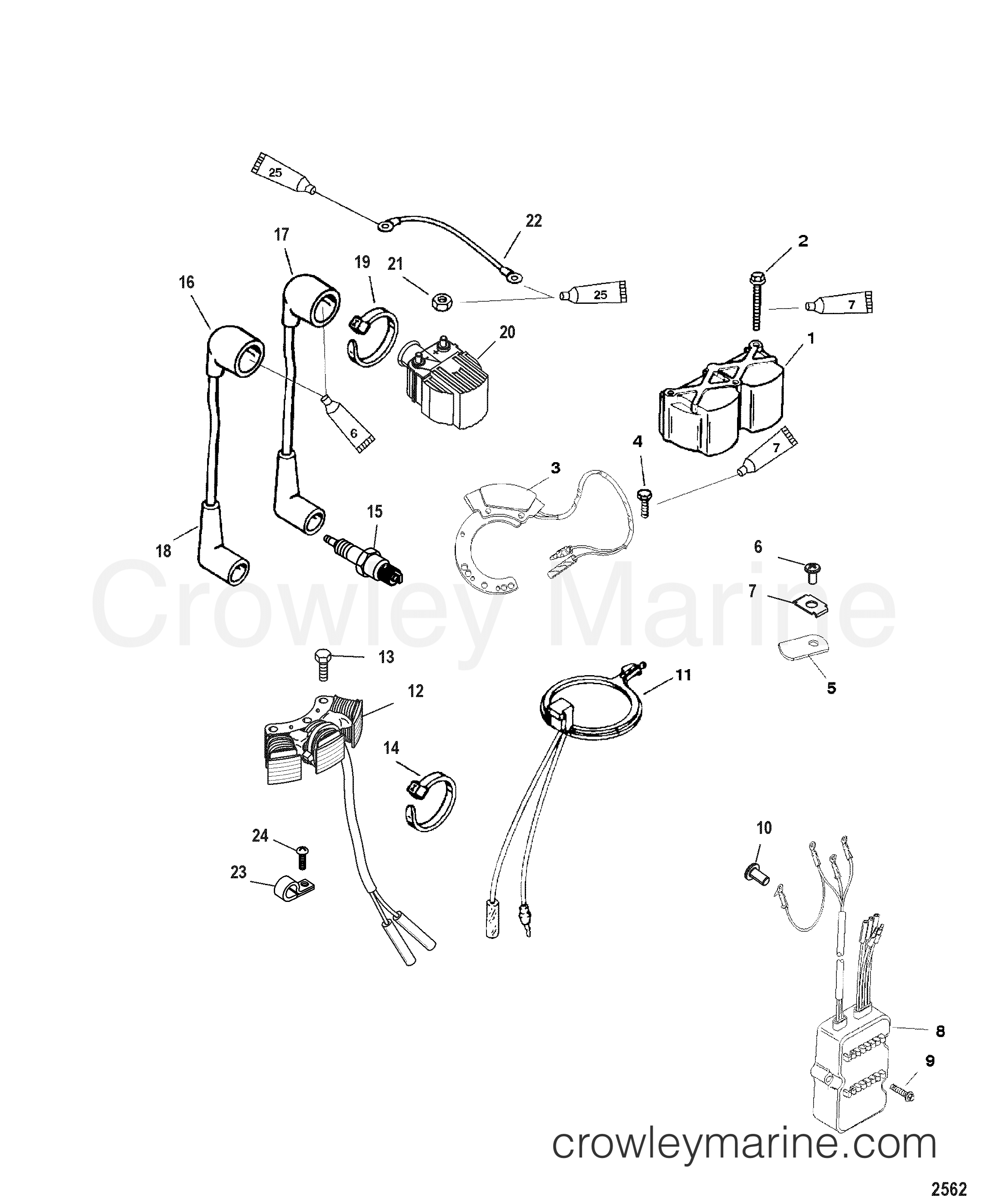 Ignition Electrical Components