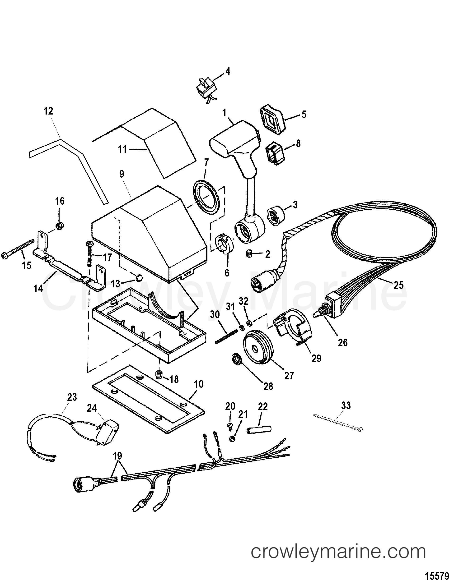 Remote Control Console Single A25