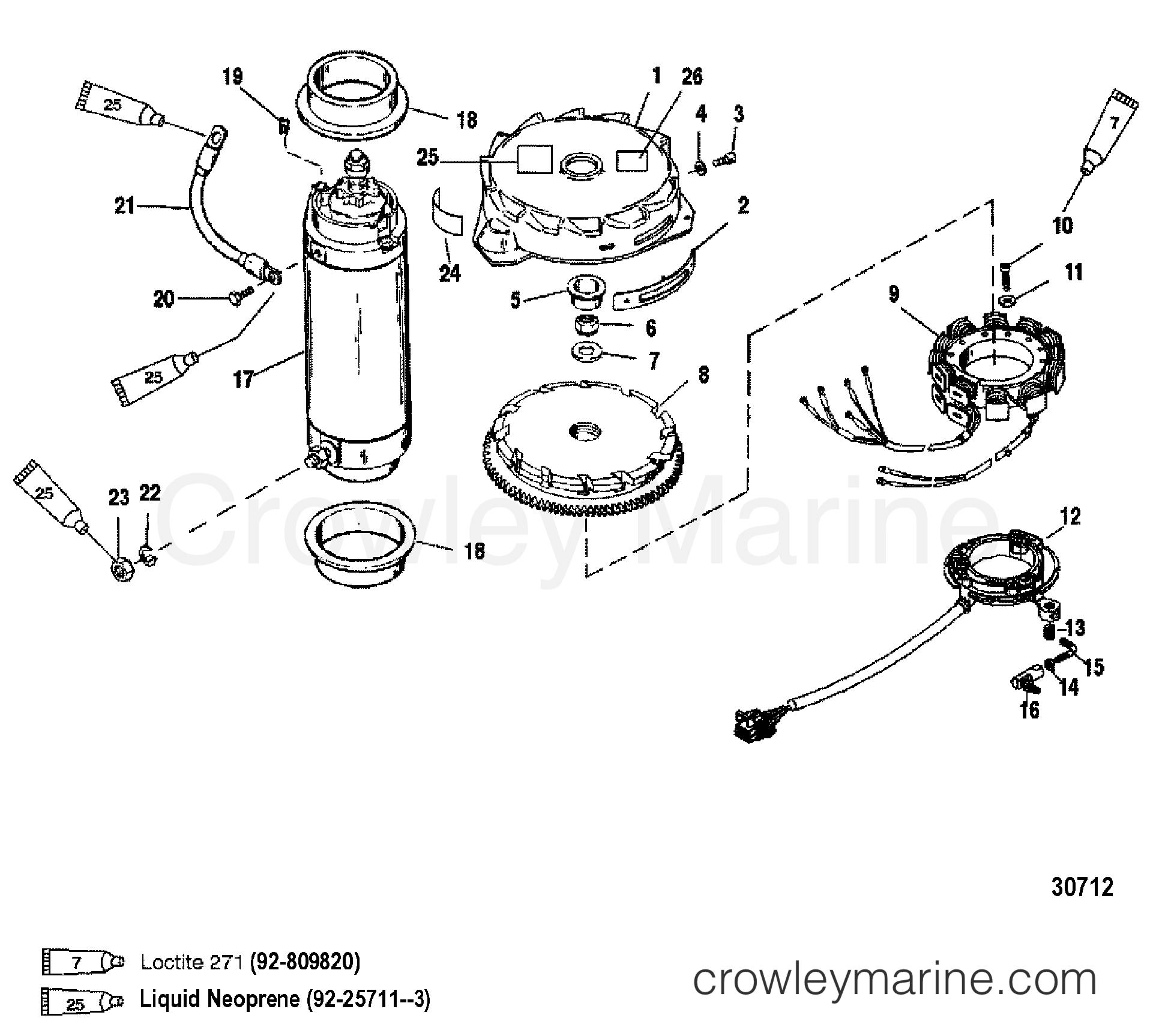 Flywheel Starter Motor