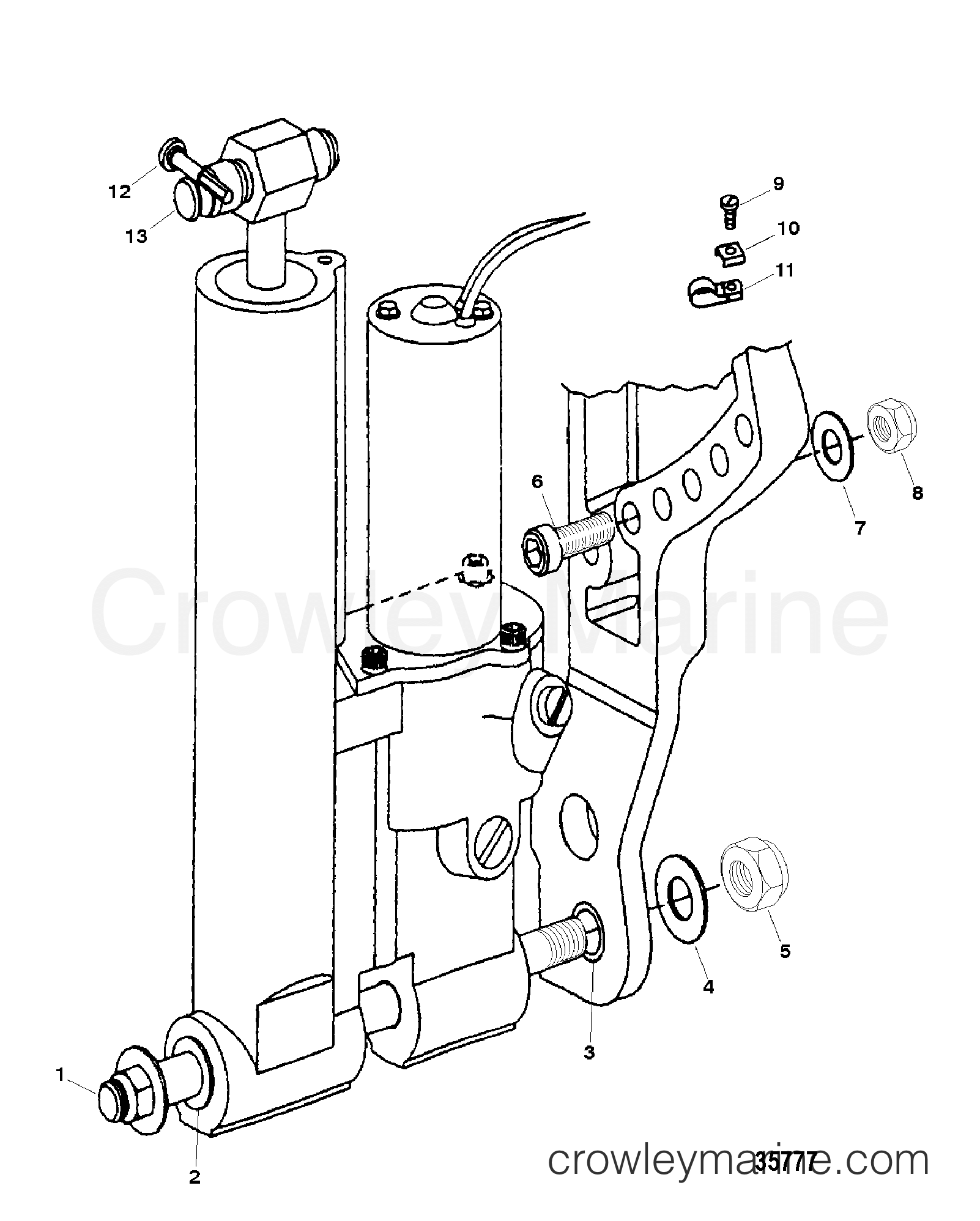 Trim Mounting Hydraulic