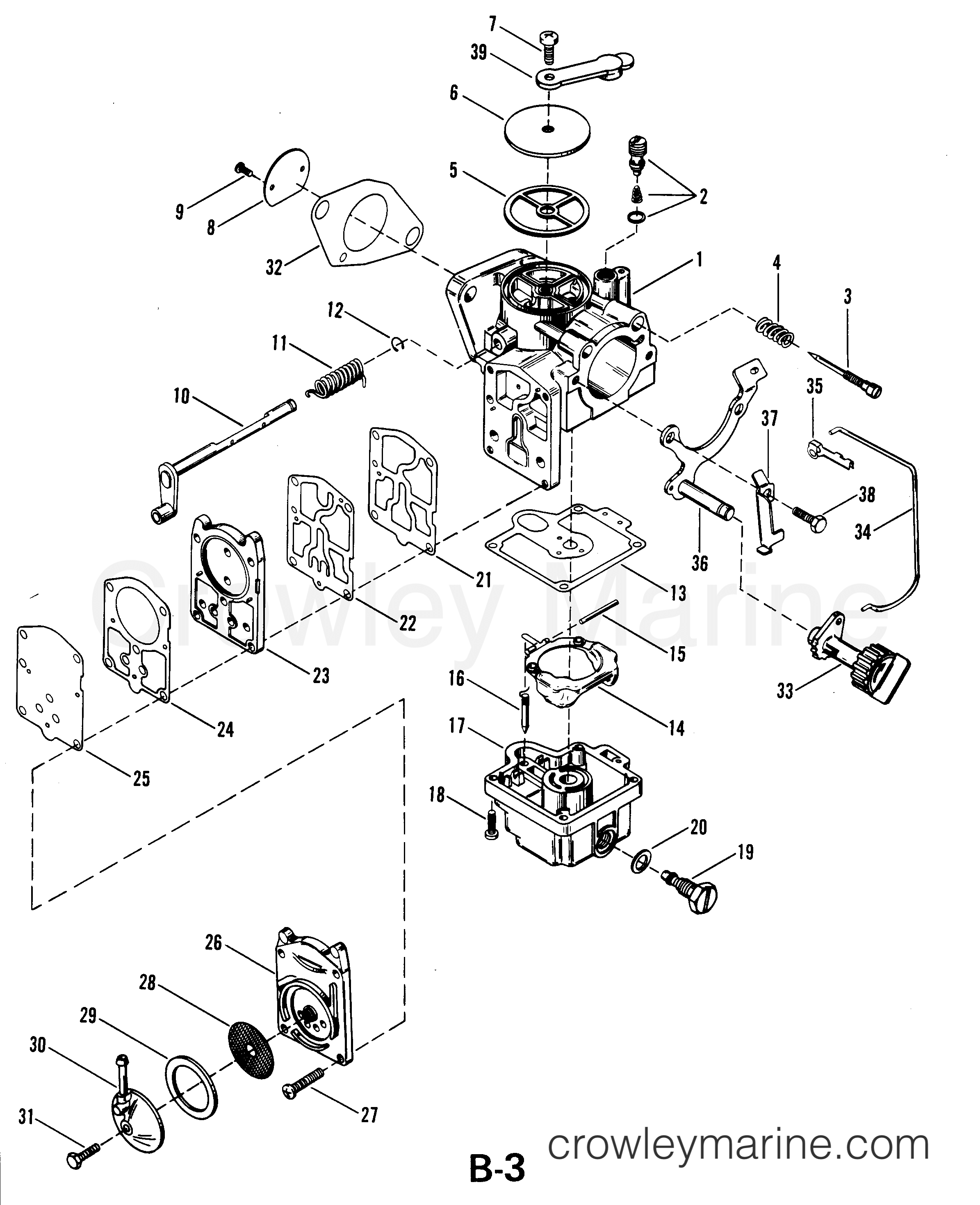 25 Hp Mercury Outboard Schematics