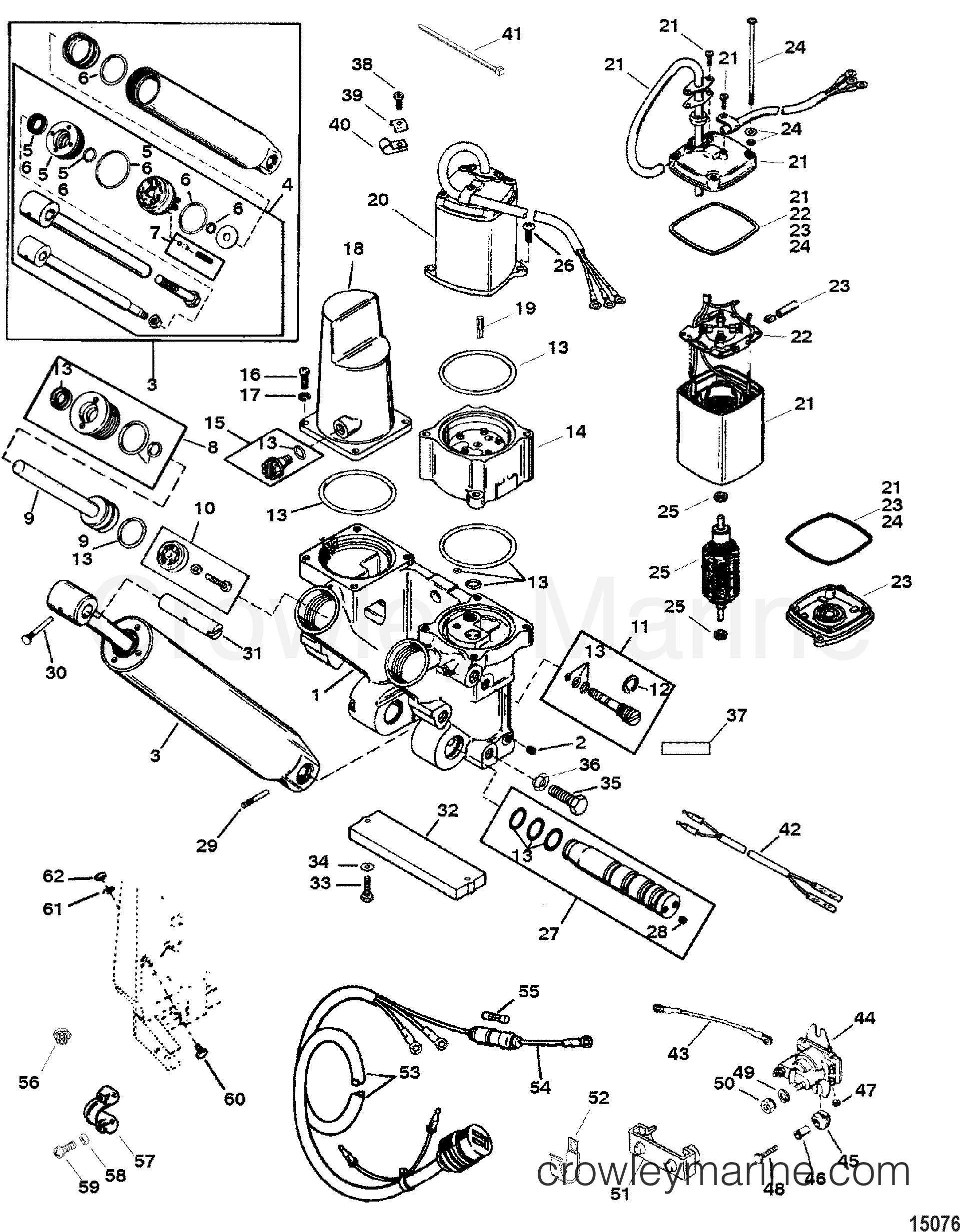 Power Trim And Tilt Kit A8