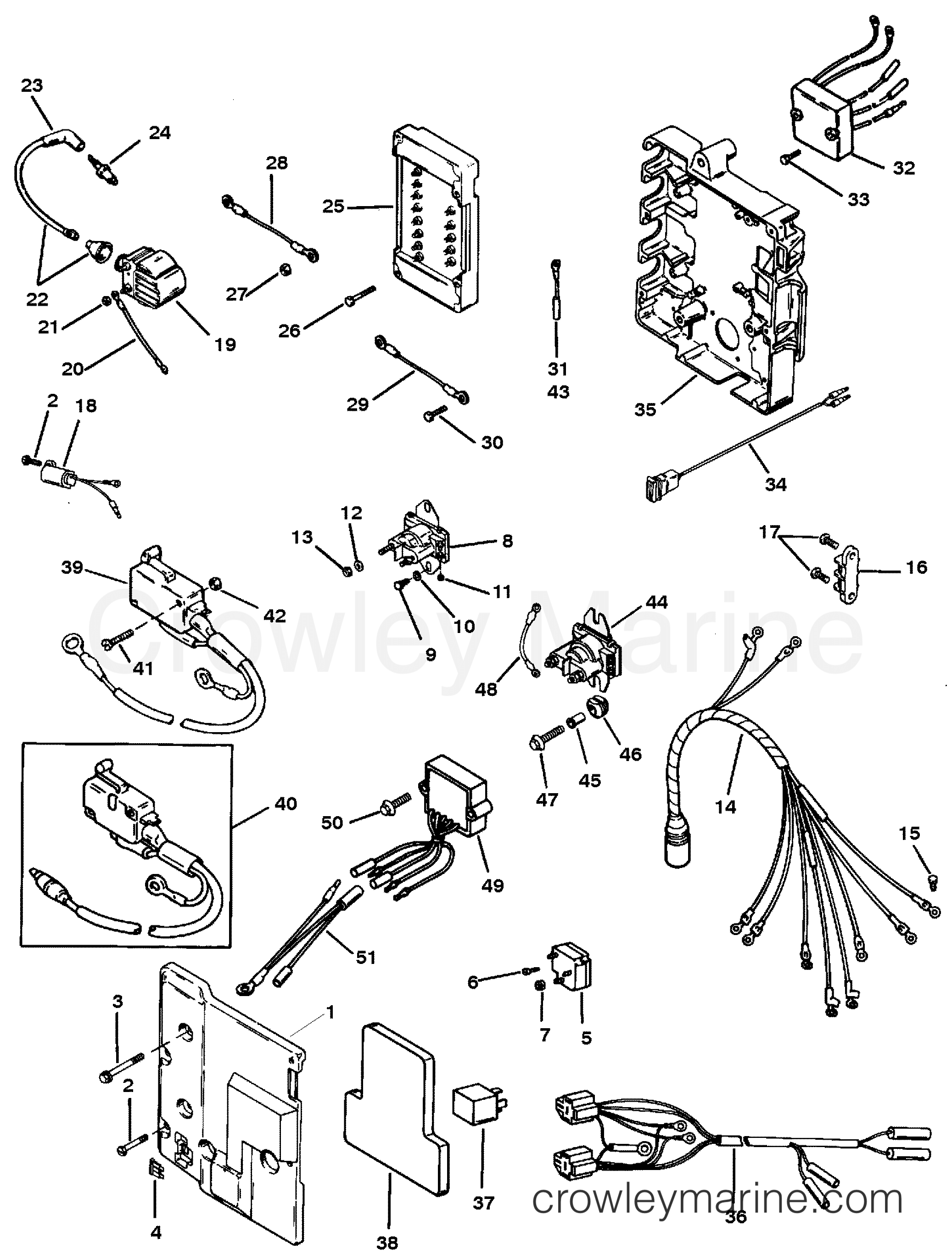 Mercury Outboard Electrical Parts