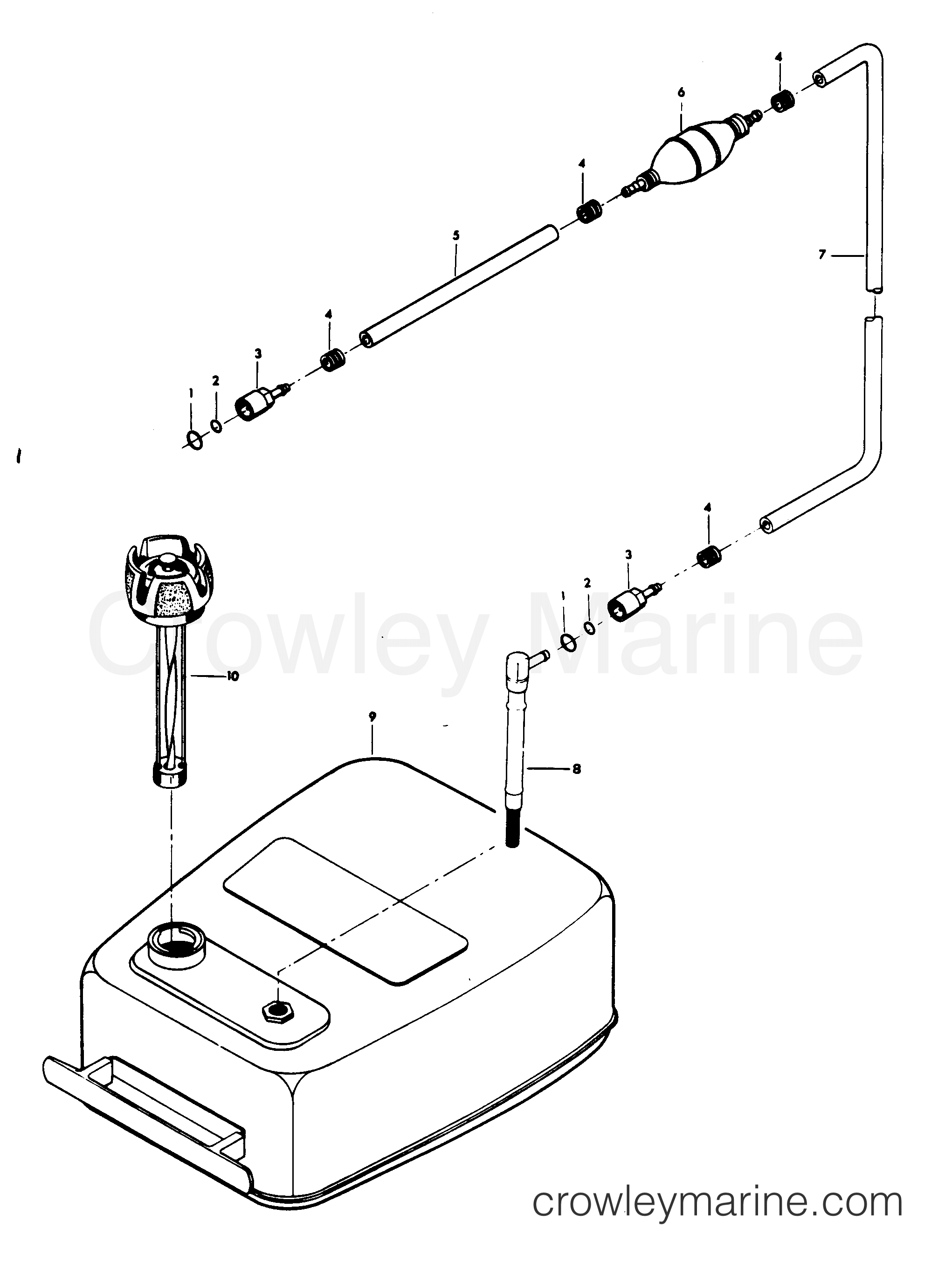 Fuel Tank And Line