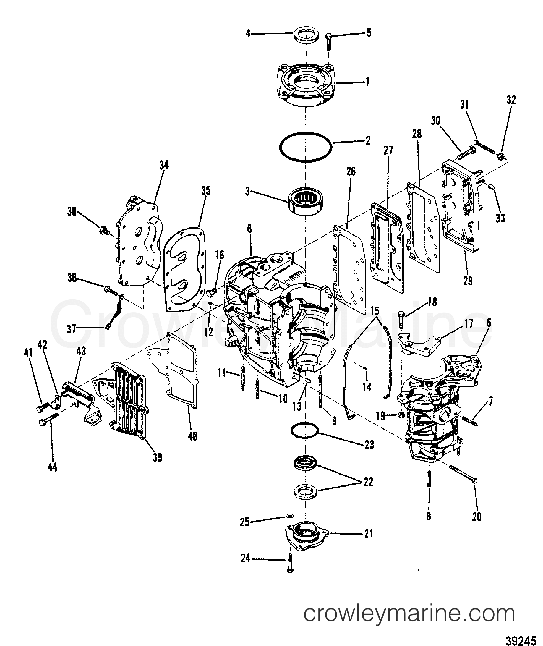 Cylinder Block Crankcase And Covers