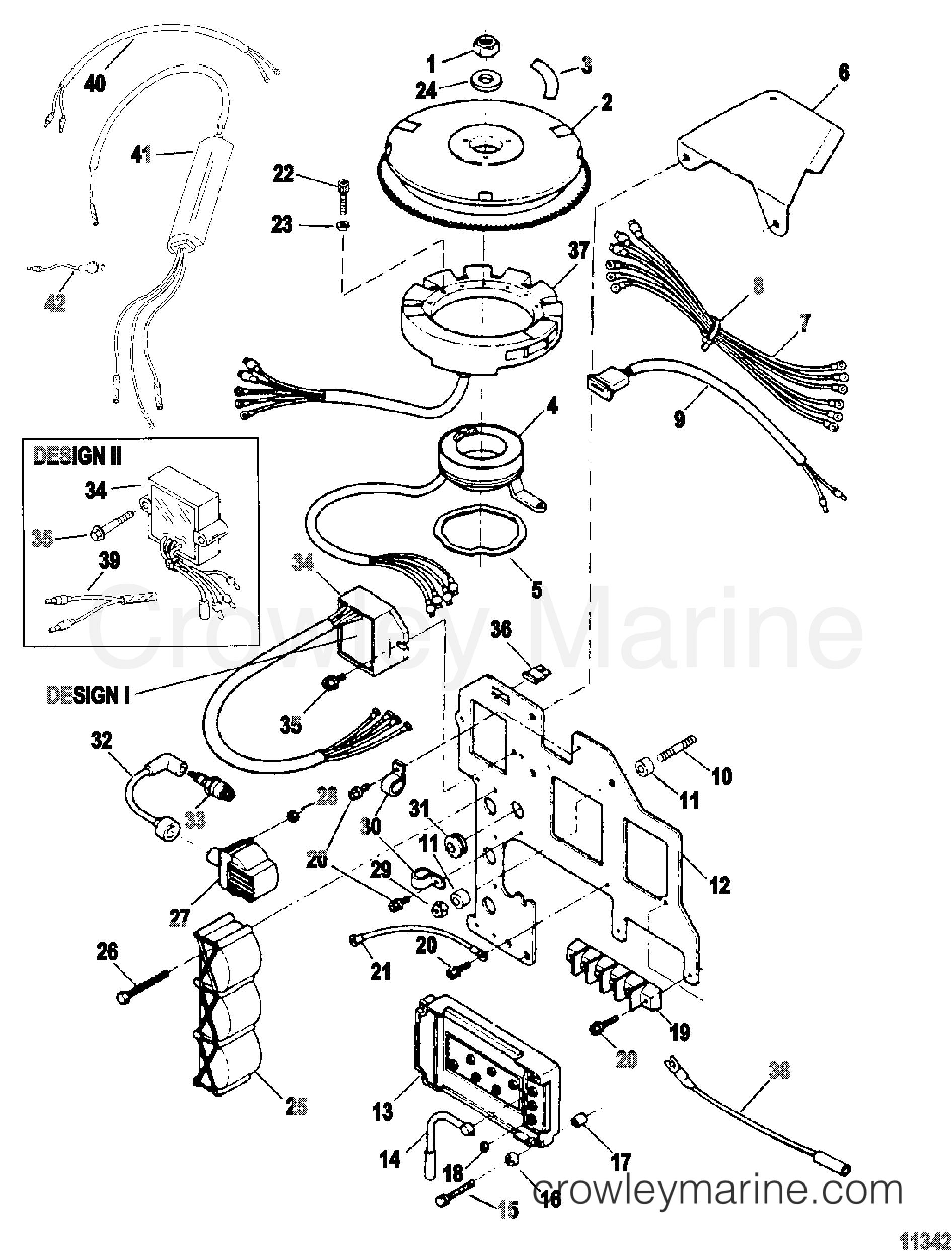 Ignition Components Ser Amp S 0e Thru 0e