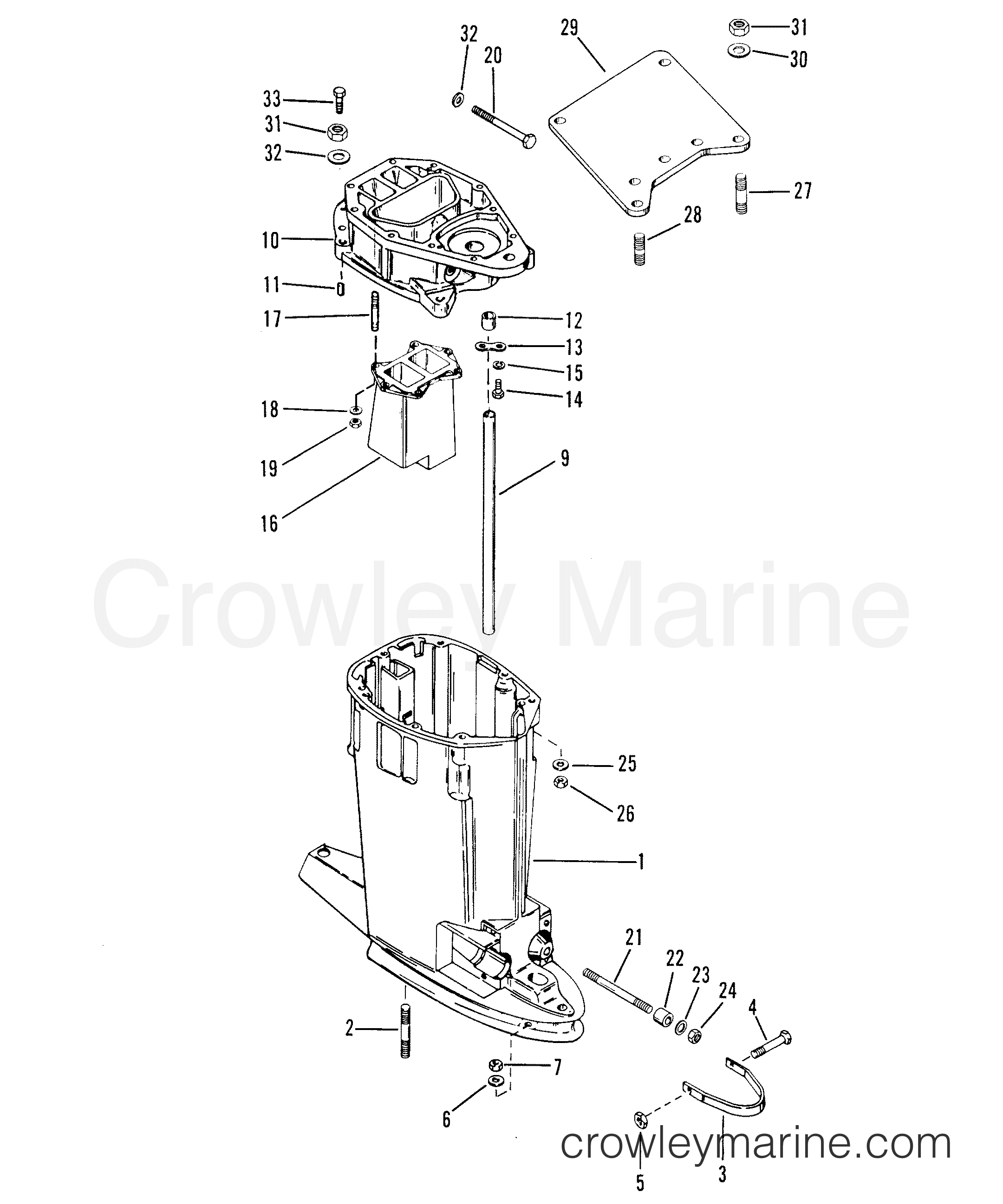 Drive Shaft Housing Offshore