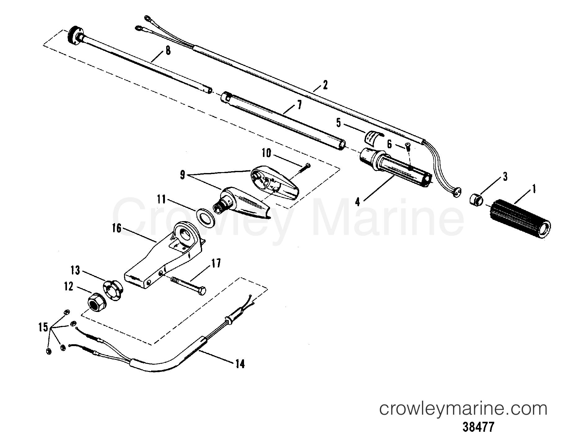 Steering Handle Assembly Mercury Manual