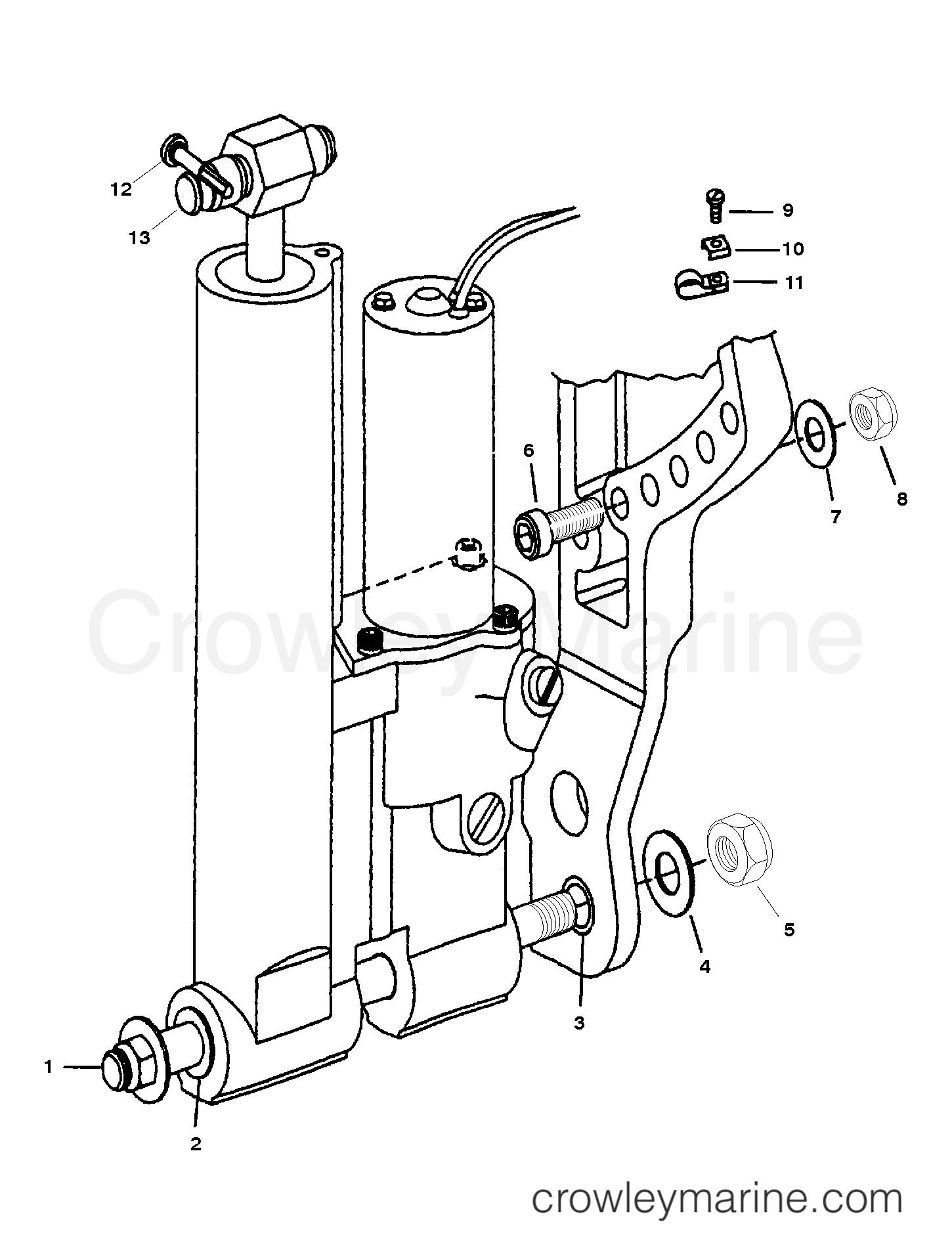 Power Trim Mounting