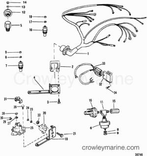 1993 Mercruiser 43L [ALPHA] [443B1003S]  Parts Lookup  Crowley Marine