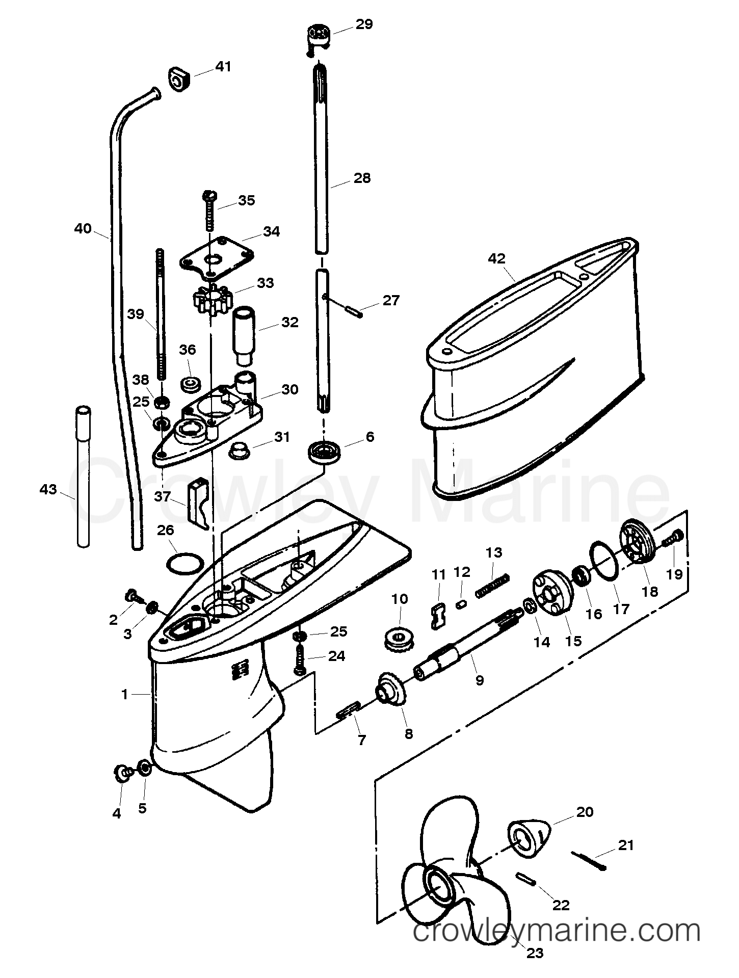 Gear Housing Assembly
